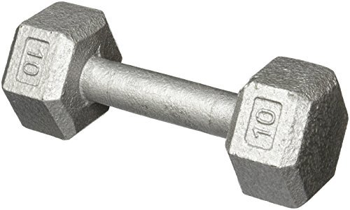Hex Dumbbell w/ Straight Handle 10 lb