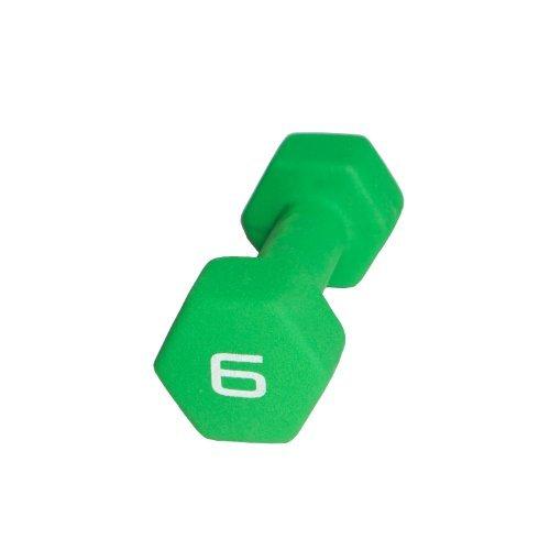 Neoprene Dumbbell - Green 6LB