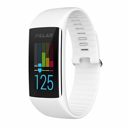 Polar A360 Activity Trainer w/Heart Rate Monitor - White MD