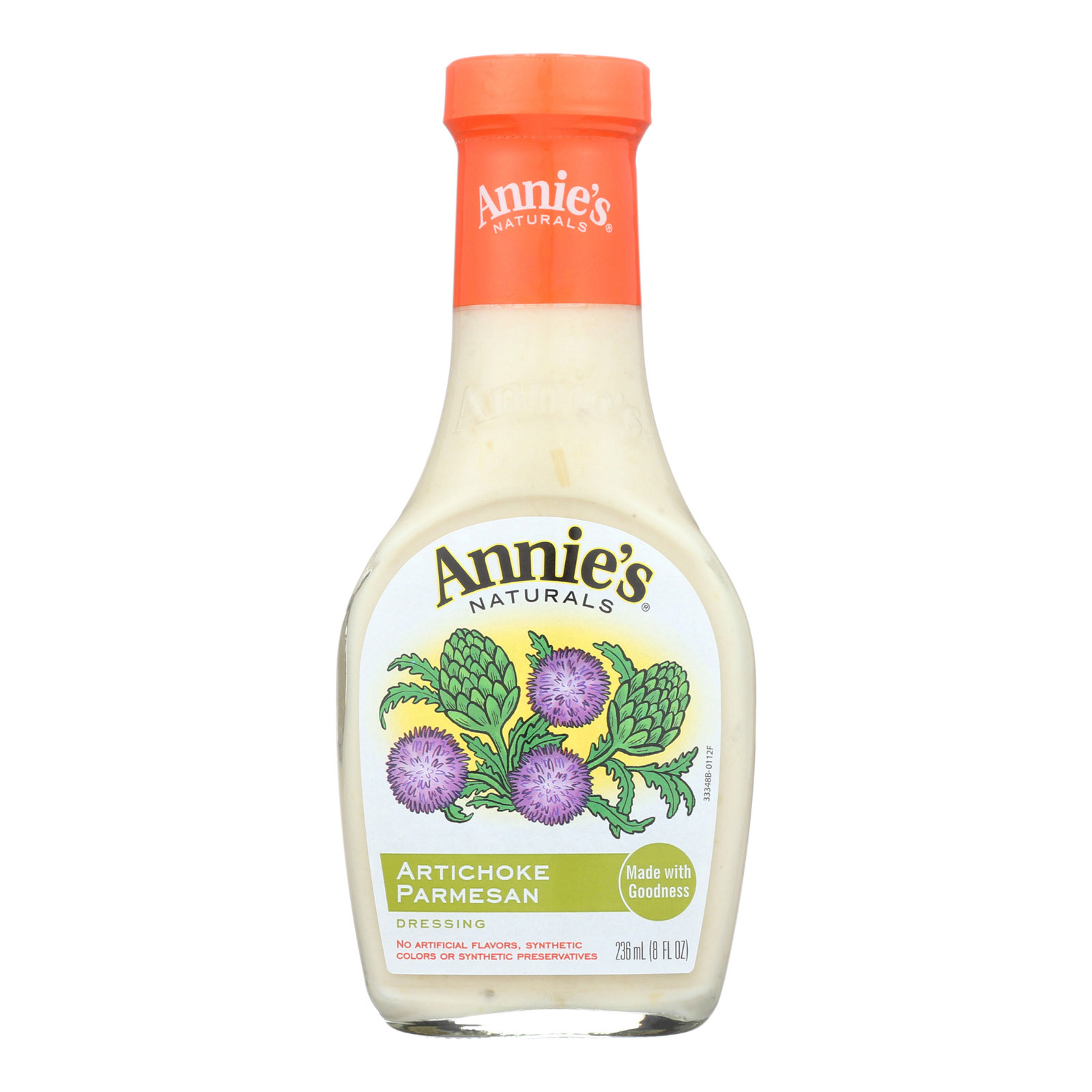 Annie's Naturals Dressing Artichoke Parmesan - Case of 6 - 8 fl oz.