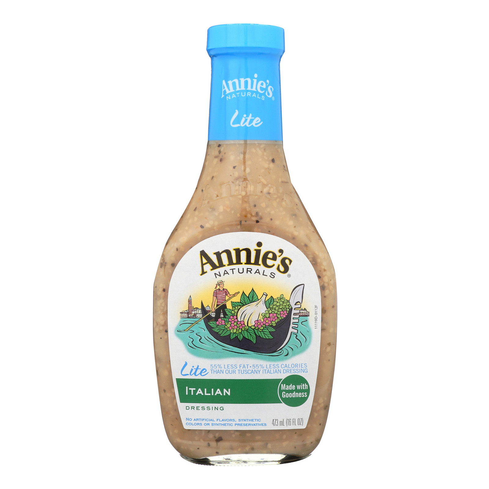 Annie's Naturals Lite Dressing Italian - Case of 6 - 16 fl oz.