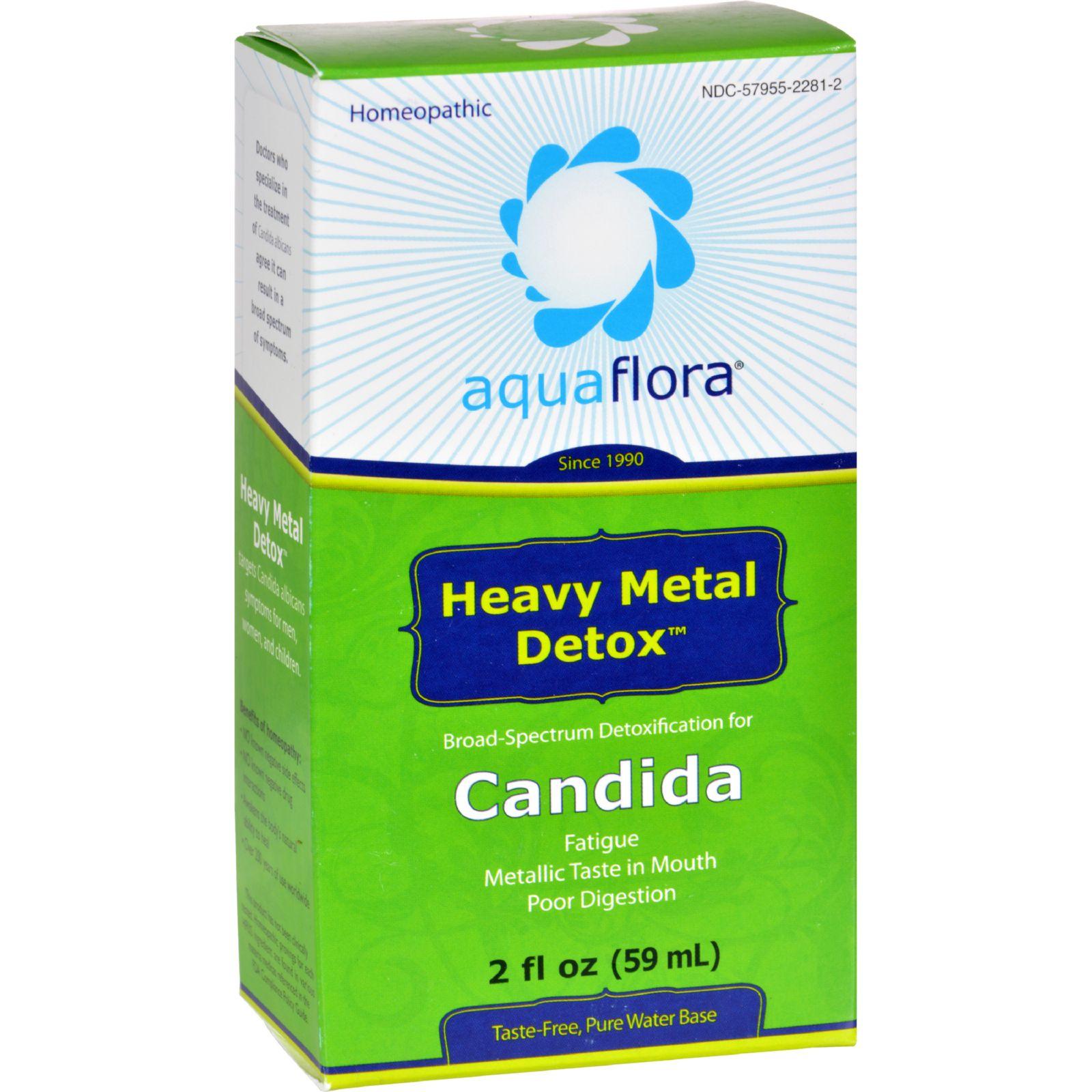 Aqua Flora Heavy Metal Detox - 2 fl oz