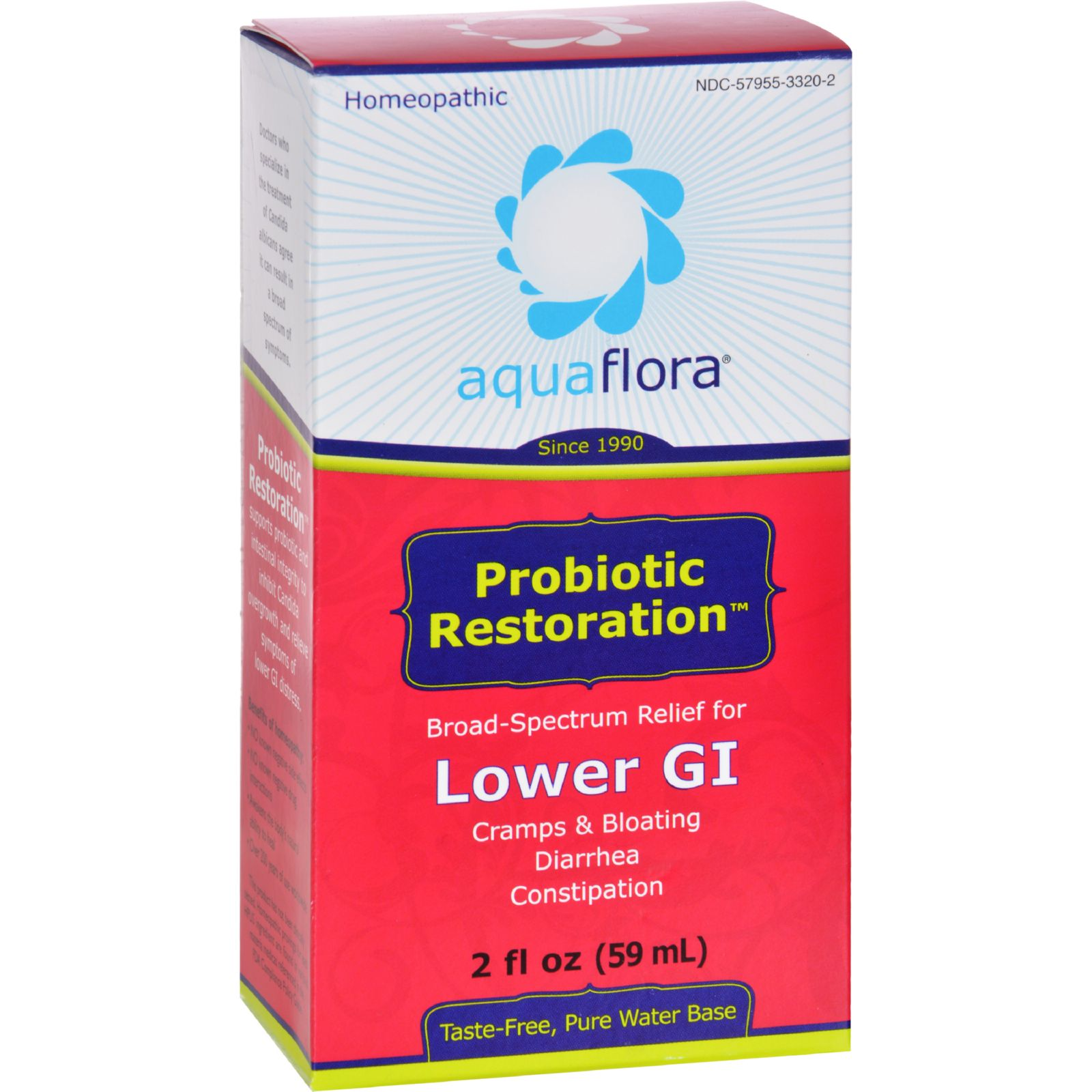 Aqua Flora Probiotic Restoration - 2 fl oz