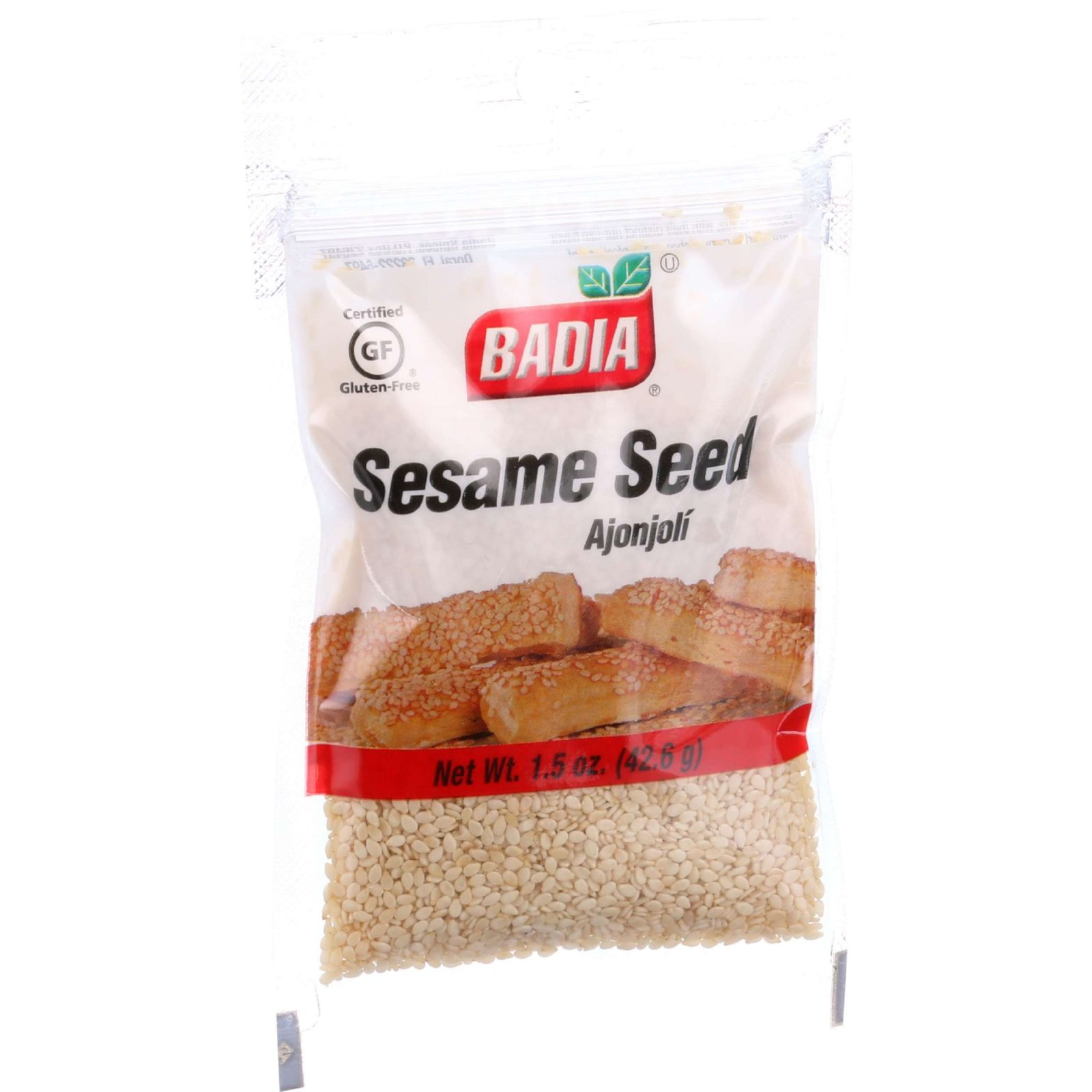 Badia Spices Sesame Seed - 1.5 oz - case of 12