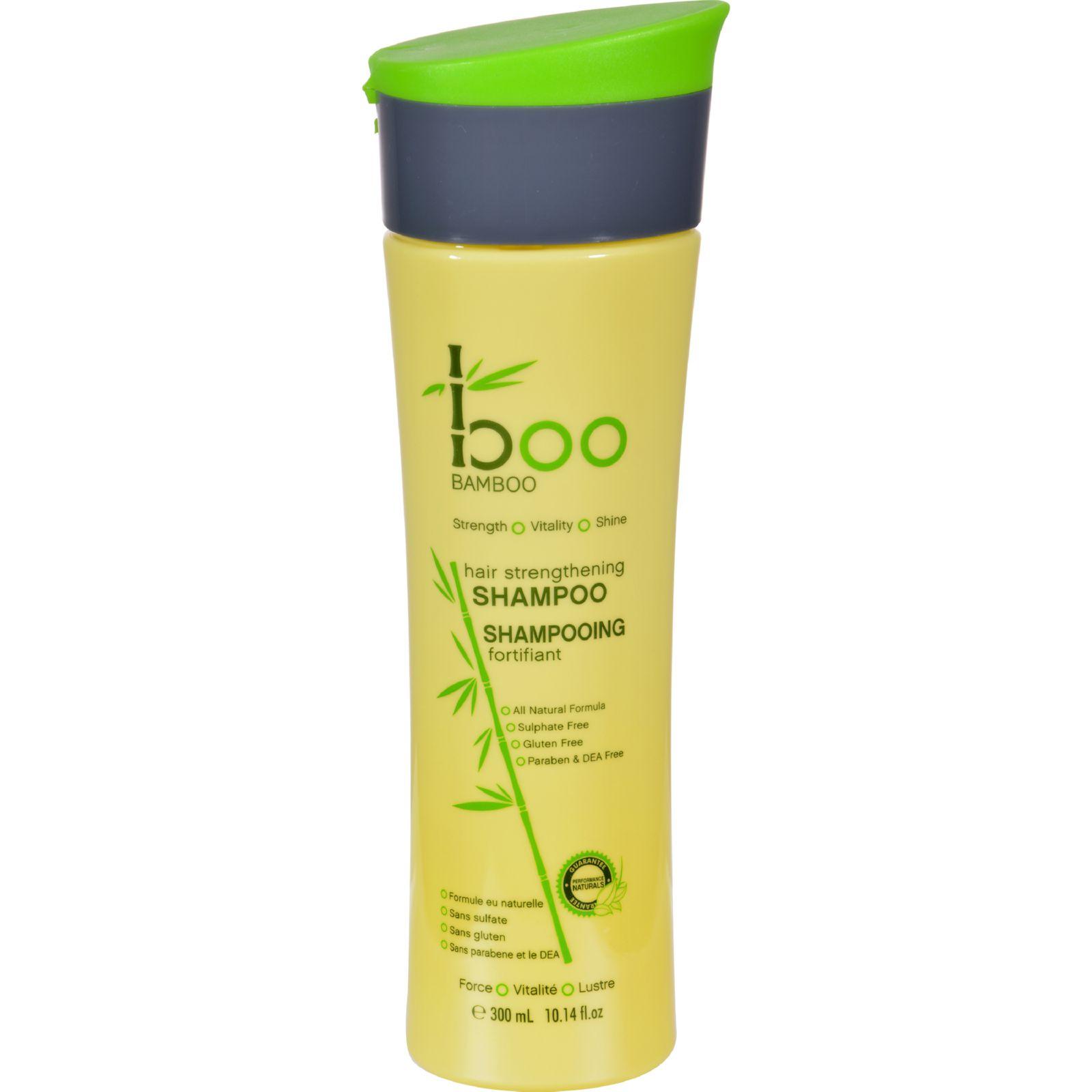 Boo Bamboo Shampoo - Strengthening - 10.14 oz