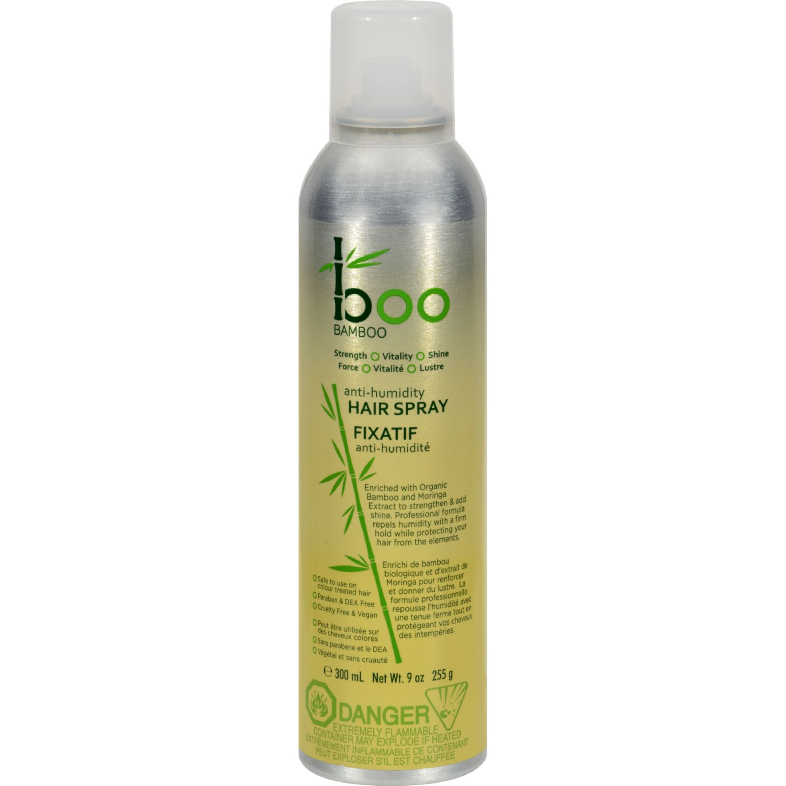 Boo Bamboo Finishing Hair Spray - 10.14 oz