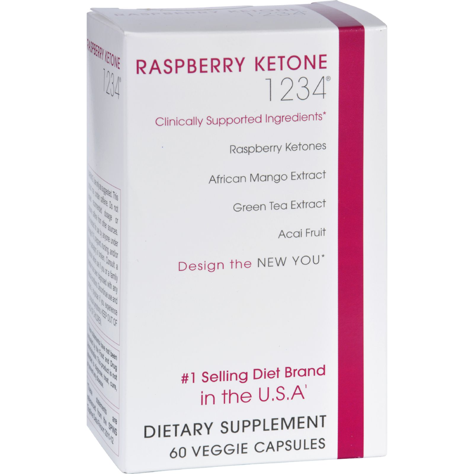 Creative Bioscience Raspberry Ketone 1234 - 60 Caps