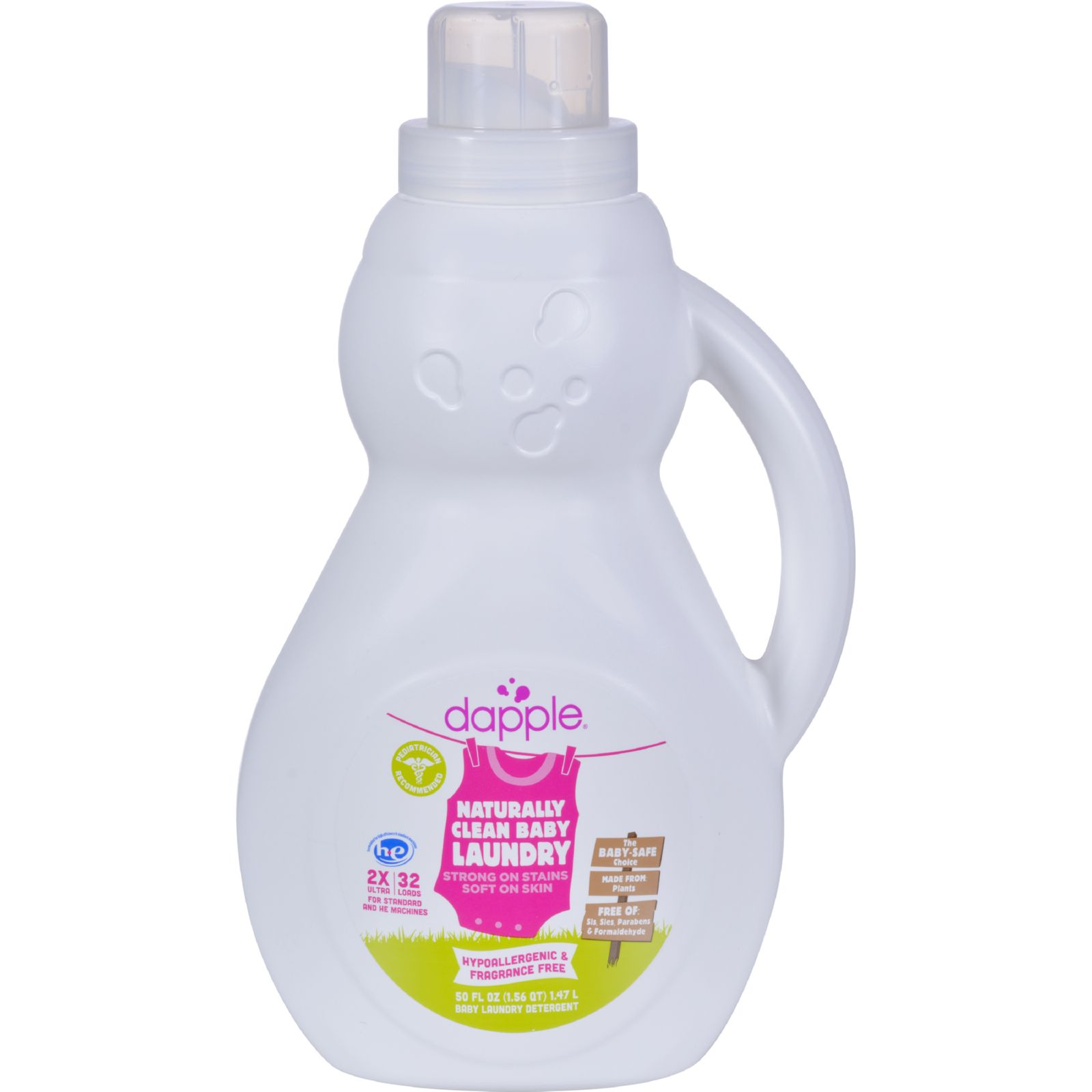 Dapple Baby Laundry Detergent - 50 oz