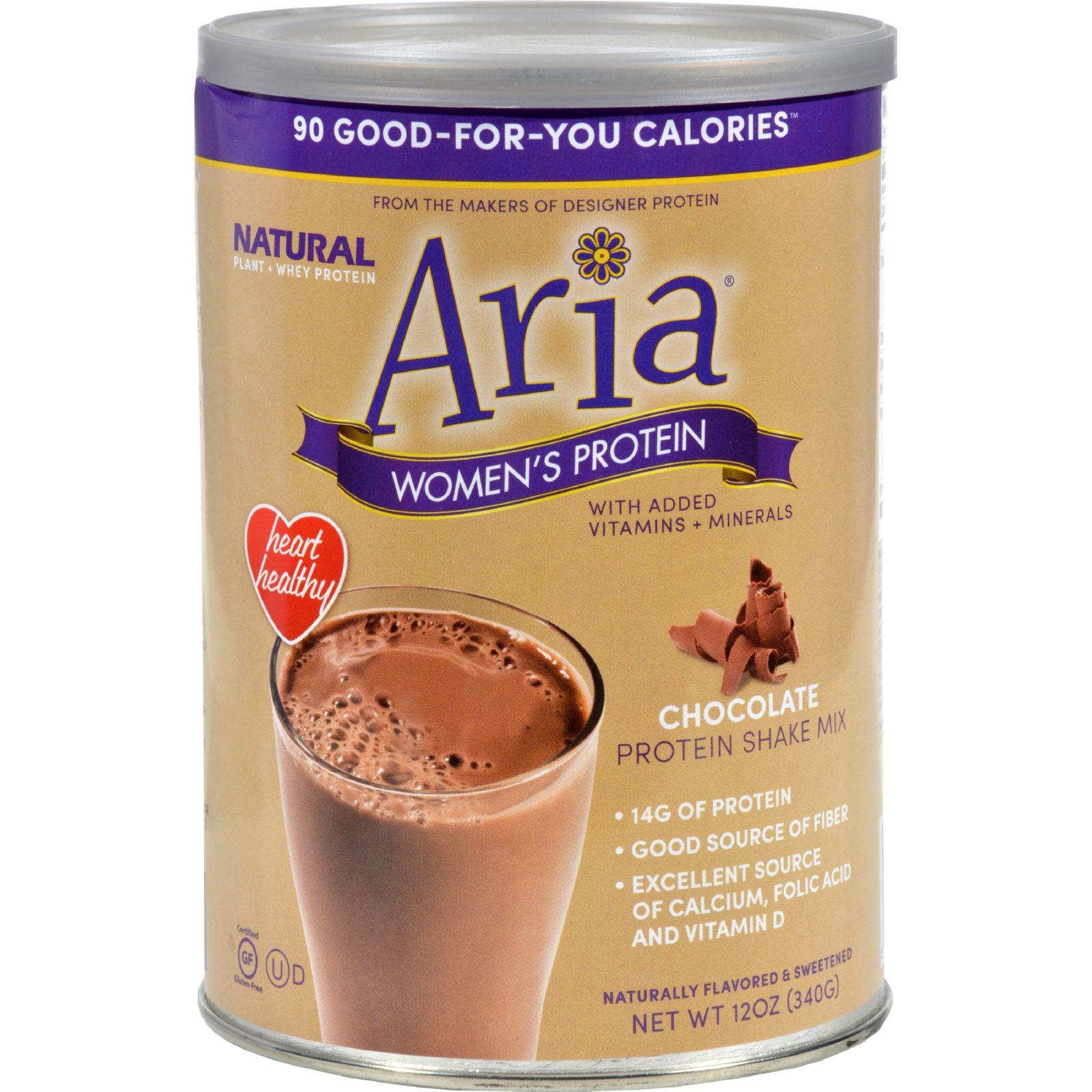 Designer Whey Aria Women's Protein Chocolate - 12 oz