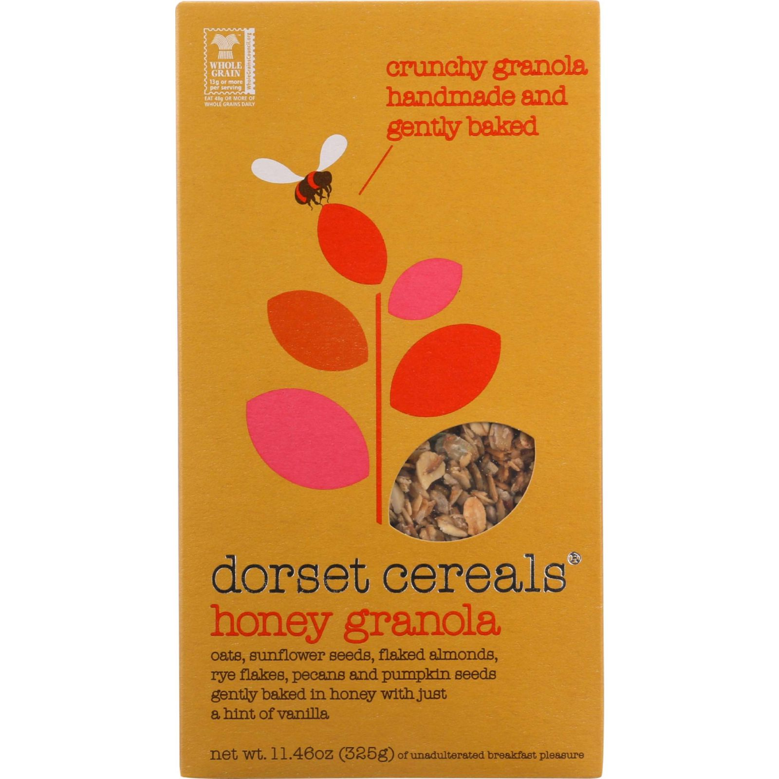 Dorset Cereal Cereal - Honey Granola - 11.46 oz - case of 5
