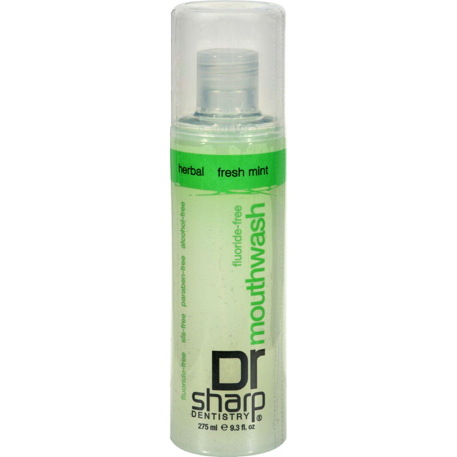 Dr. Sharp Natural Oral Care Mouthwash - Fresh Mint - 9.3 oz