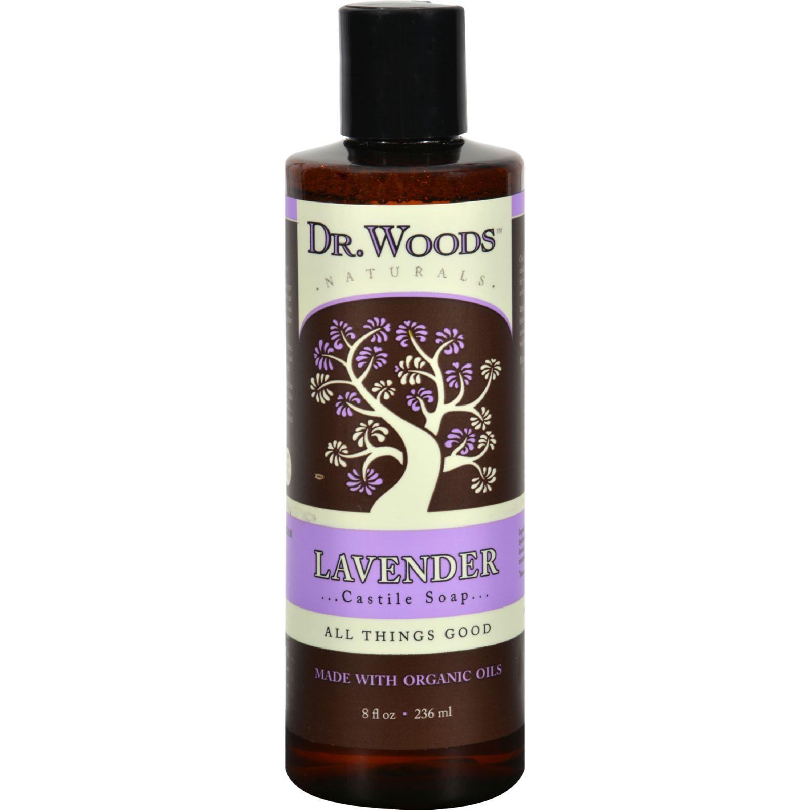 Dr. Woods Naturals Castile Liquid Soap - Lavender - 8 fl oz