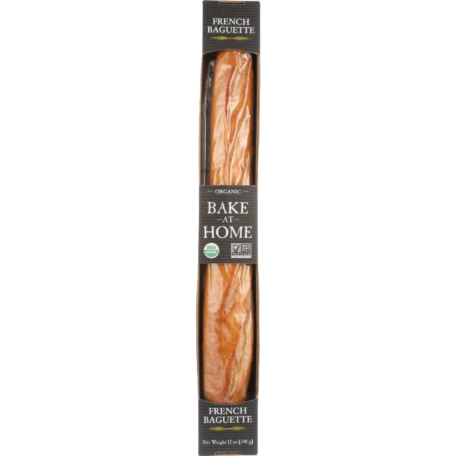 Essential Baking Company Bread - Organic - Bake At Home - French Baguette - 12 Oz - Case Of 12