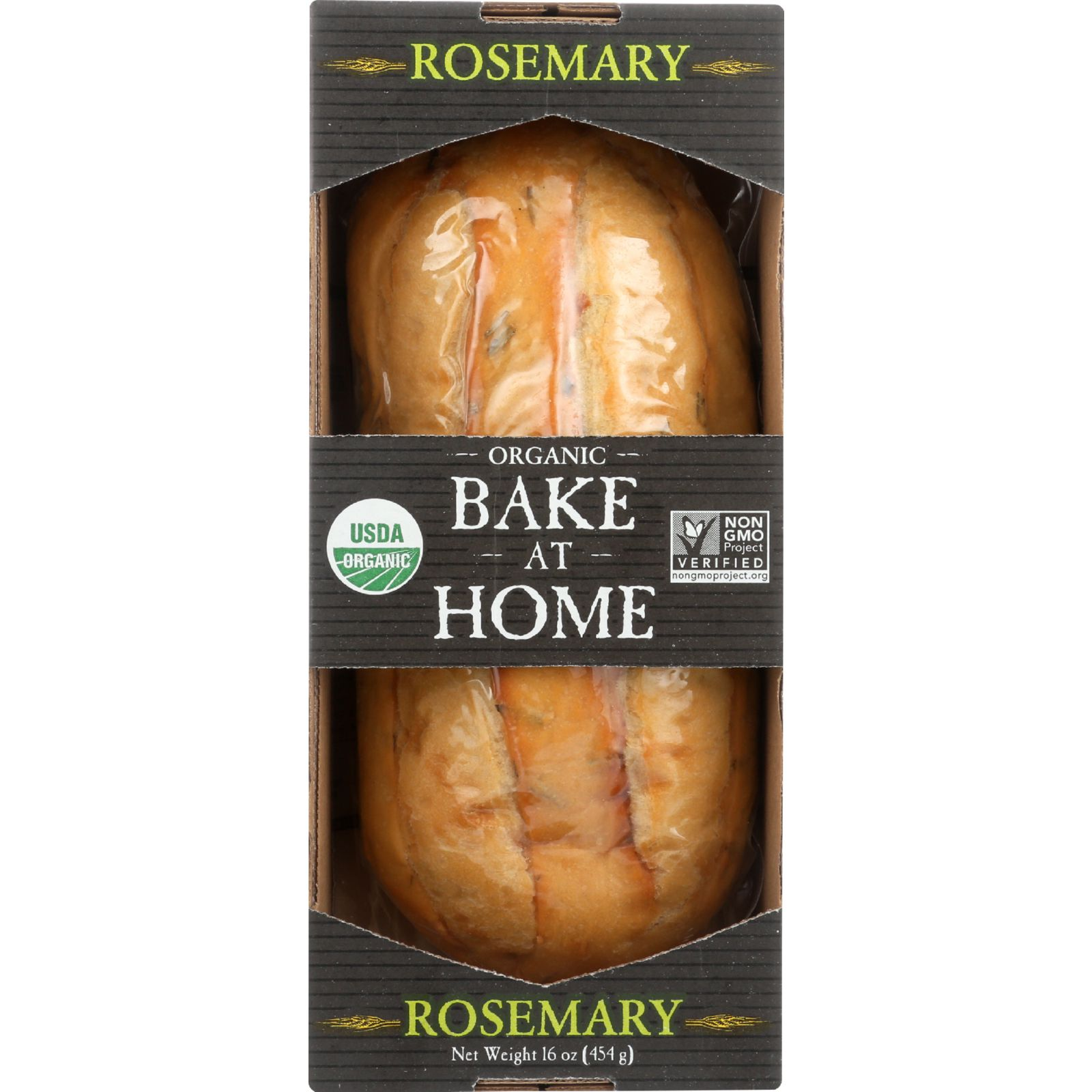 Essential Baking Company Bread - Organic - Bake At Home - Rosemary - 16 Oz - Case Of 12