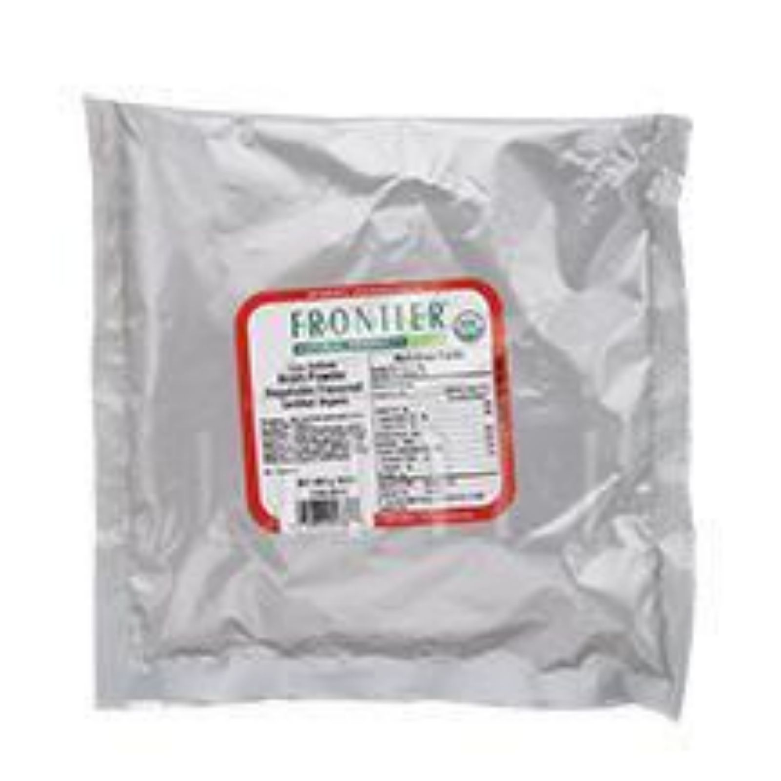 Frontier Herb Broth Powder - Organic - Vegetable - Low Sodium - Bulk - 1 Lb