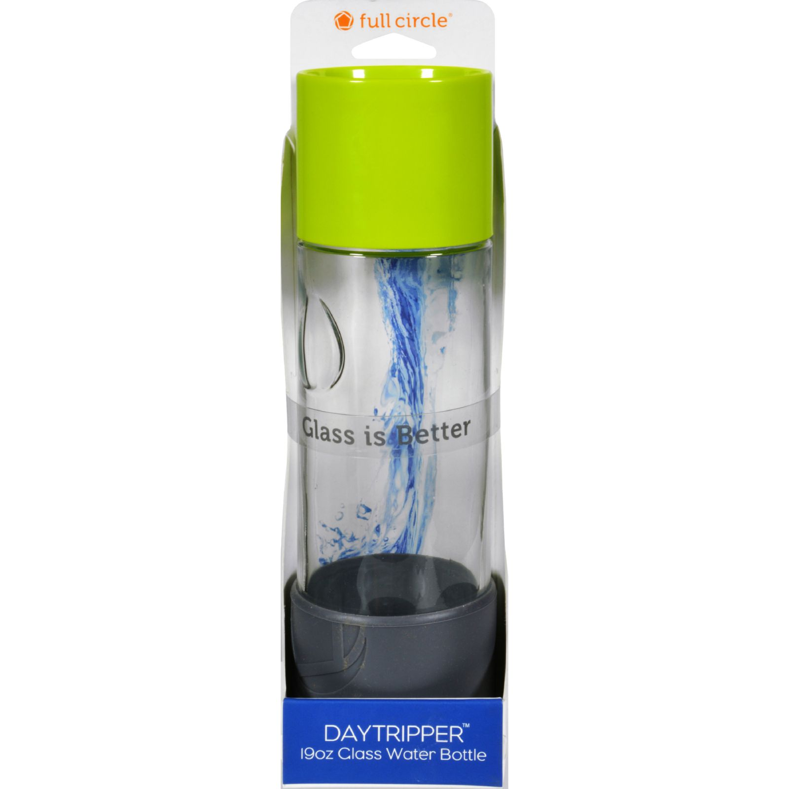 Full Circle Home Daytrip Beverage Bottle - Lime Green