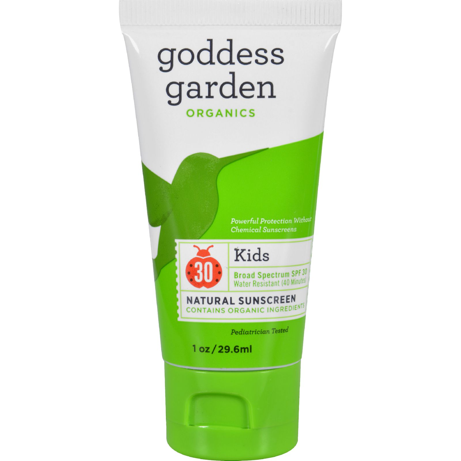 Goddess Garden Organic Sunscreen Counter Display - Kids - 1 Oz - Case Of 20