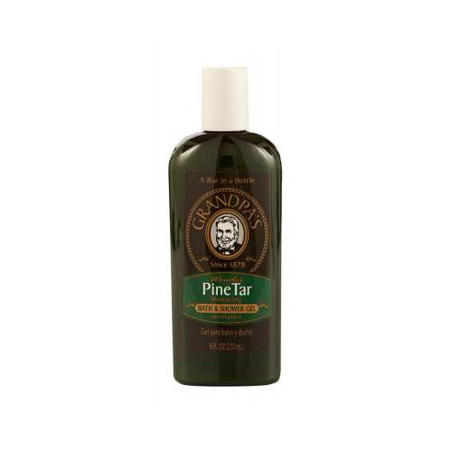 Grandpa's Wonder Pine Tar Moisturing Bath And Shower Gel With Vitamin E - 8 Fl Oz