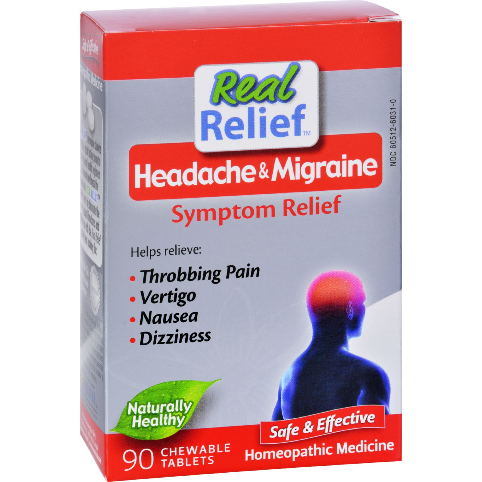 Homeolab Usa Headache And Migrane Symptom Relief - 90 Tablets