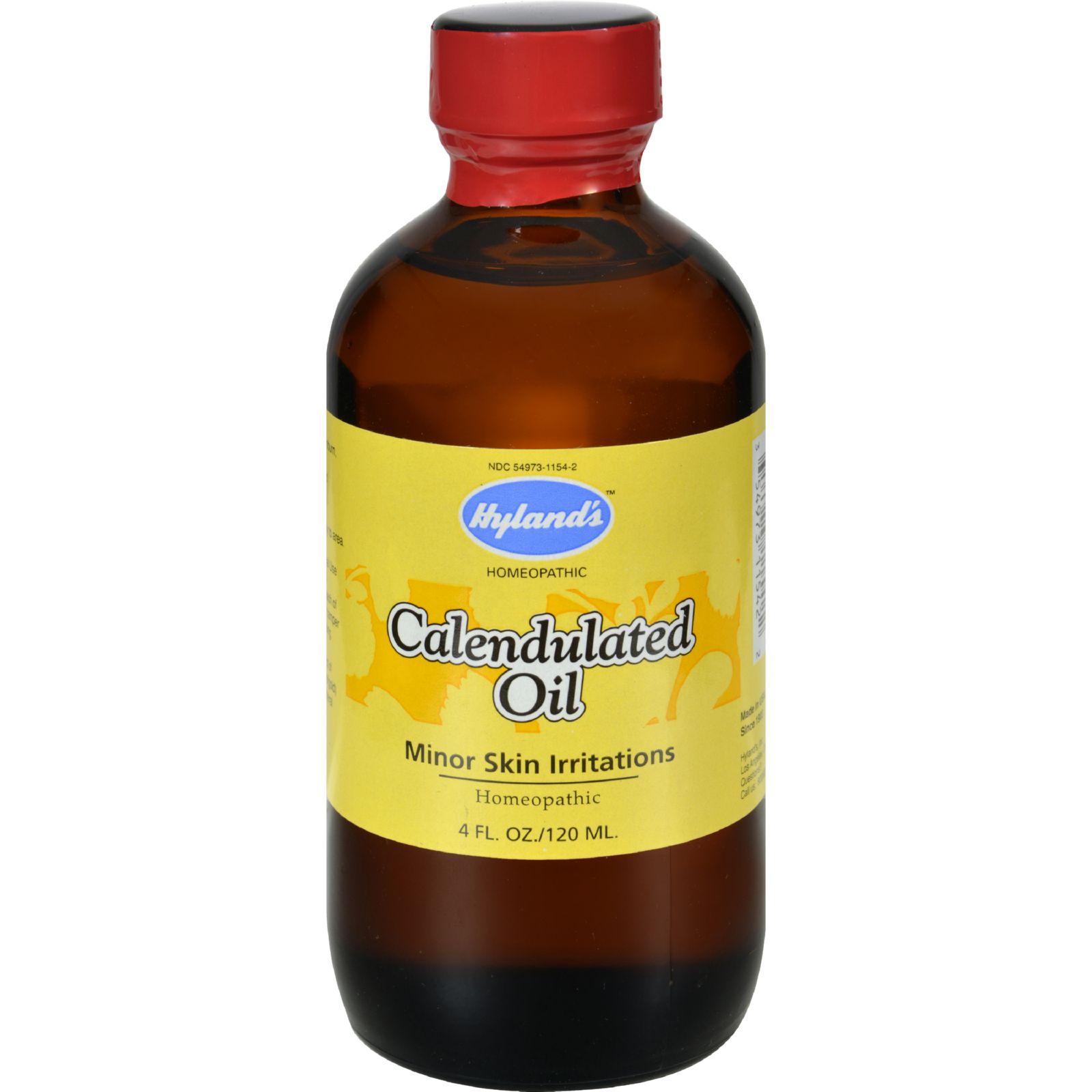 Hylands Homeopathic Calendula Oil - 4 Fl Oz