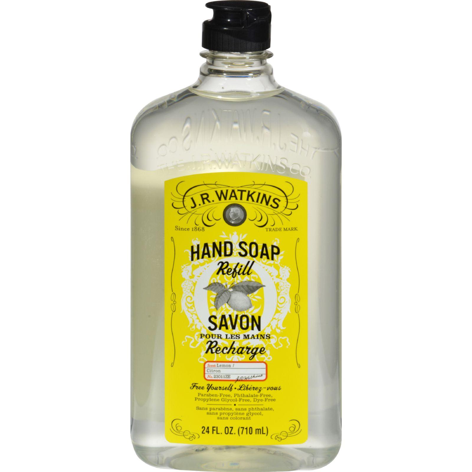 J.R. Watkins Liquid Hand Soap - Refill - Lemon - 24 fl oz