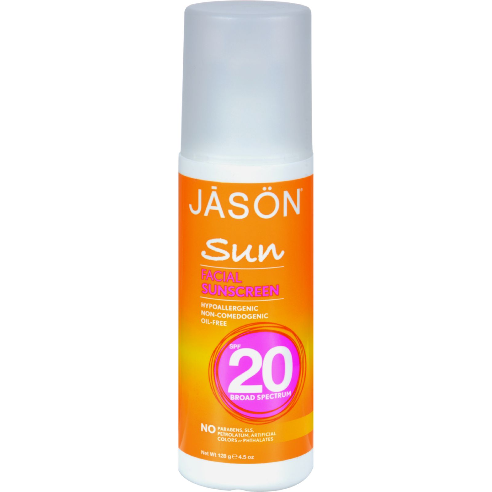 Jason Sunbrellas Natural Facial Sunblock Spf 20 - 4.5 Fl Oz