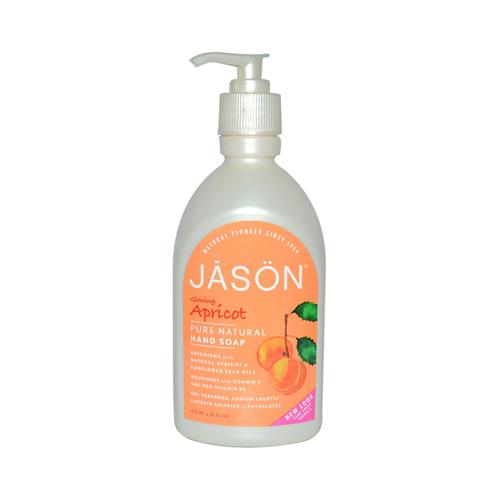 Jason Pure Natural Hand Soap Glowing Apricot - 16 fl oz
