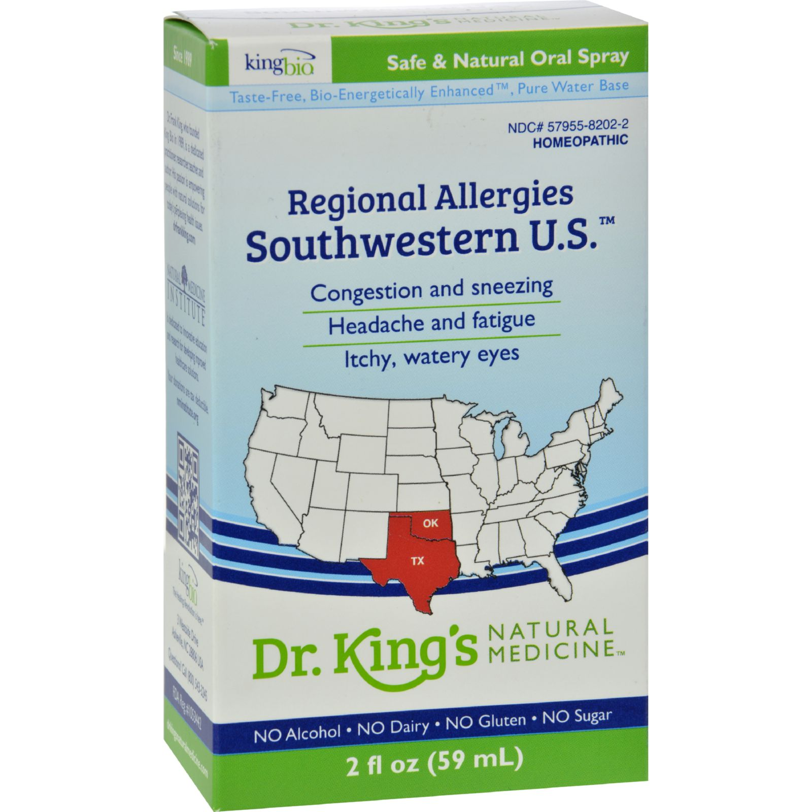 King Bio Homeopathic Southwestern U.s. - 2 Fl Oz