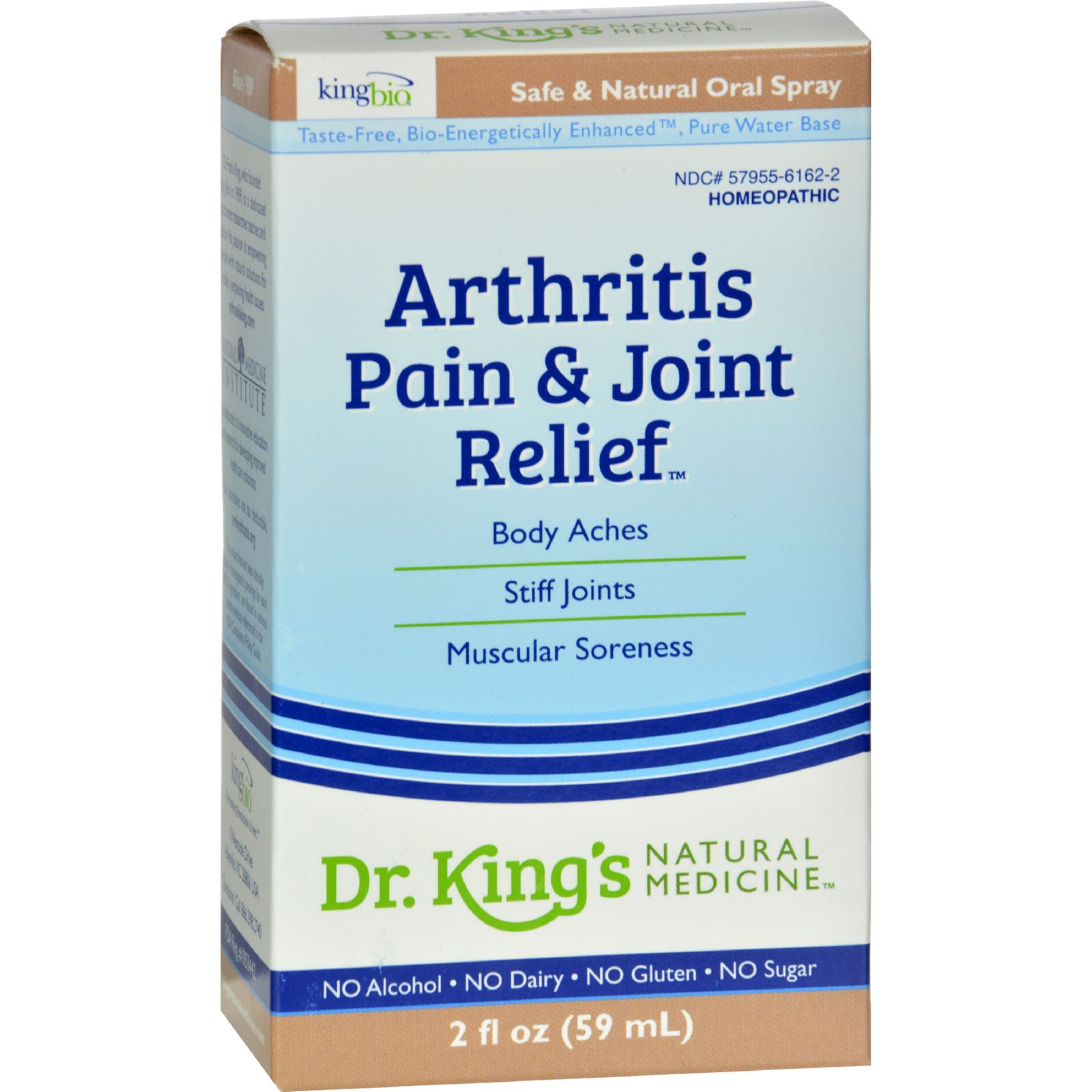King Bio Homeopathic Arthritis And Joint Relief - 2 Fl Oz