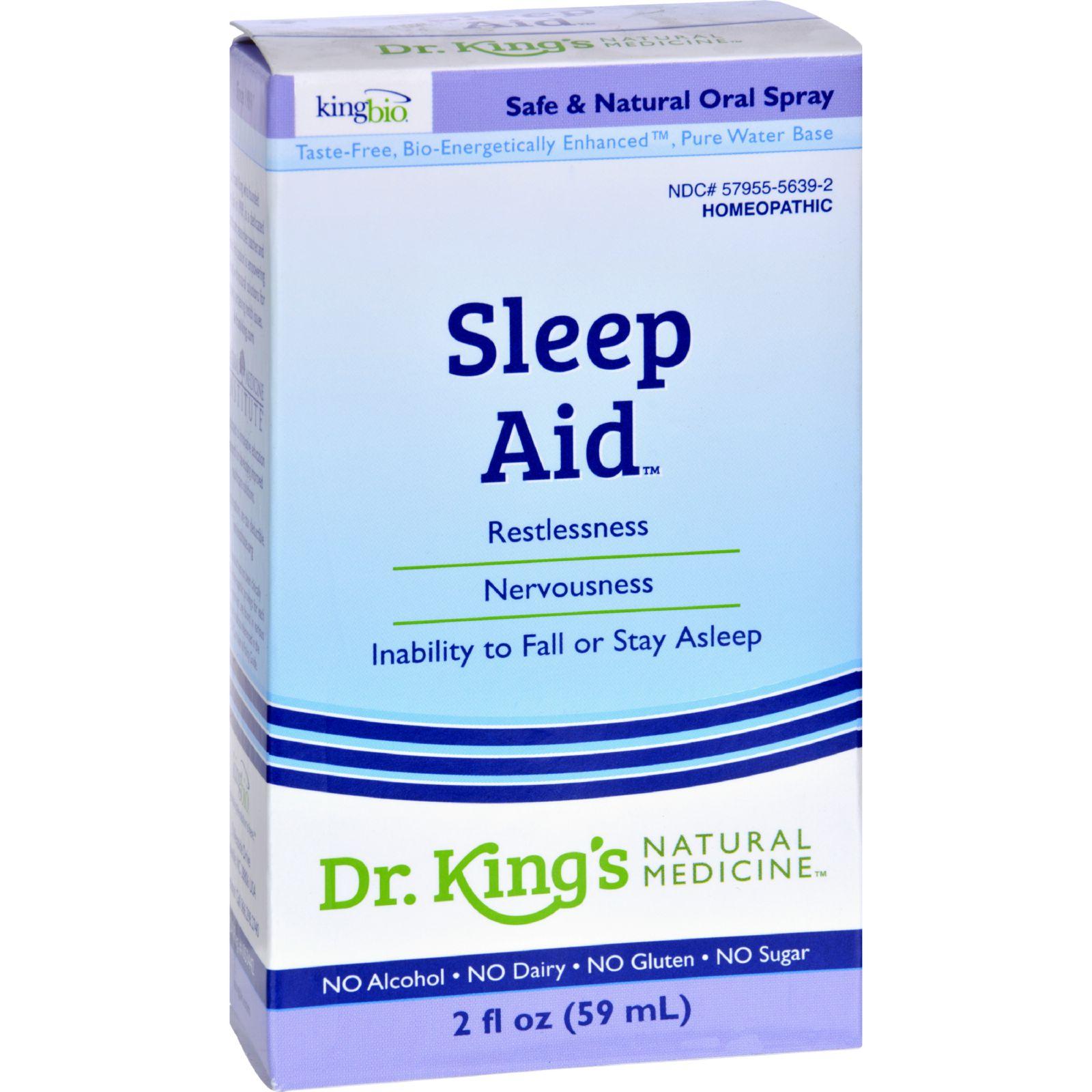 King Bio Homeopathic Sleep Aid - 2 Fl Oz