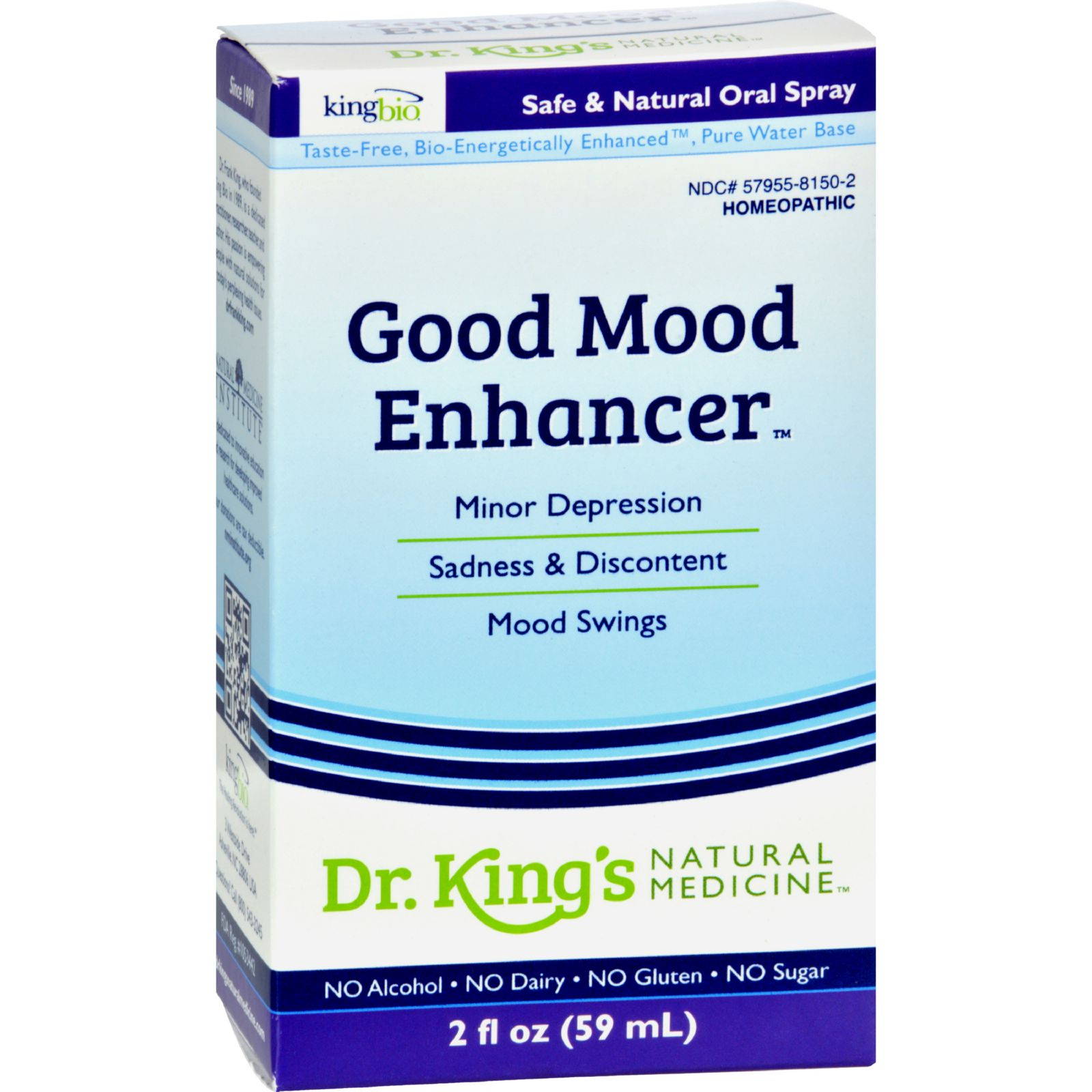 King Bio Homeopathic Good Mood Enhancer - 2 Fl Oz