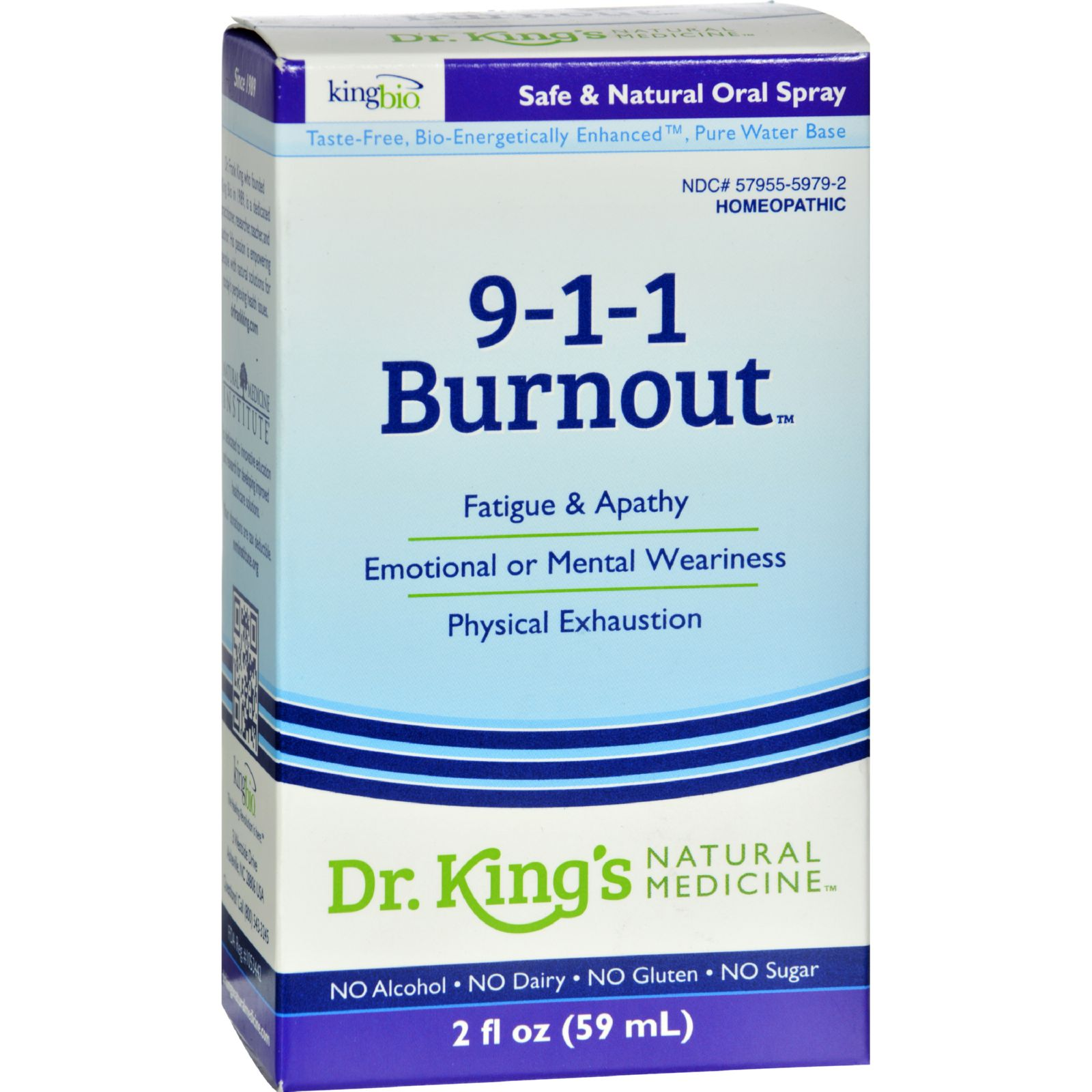 King Bio Homeopathic 911 Burnout - 2 Fl Oz