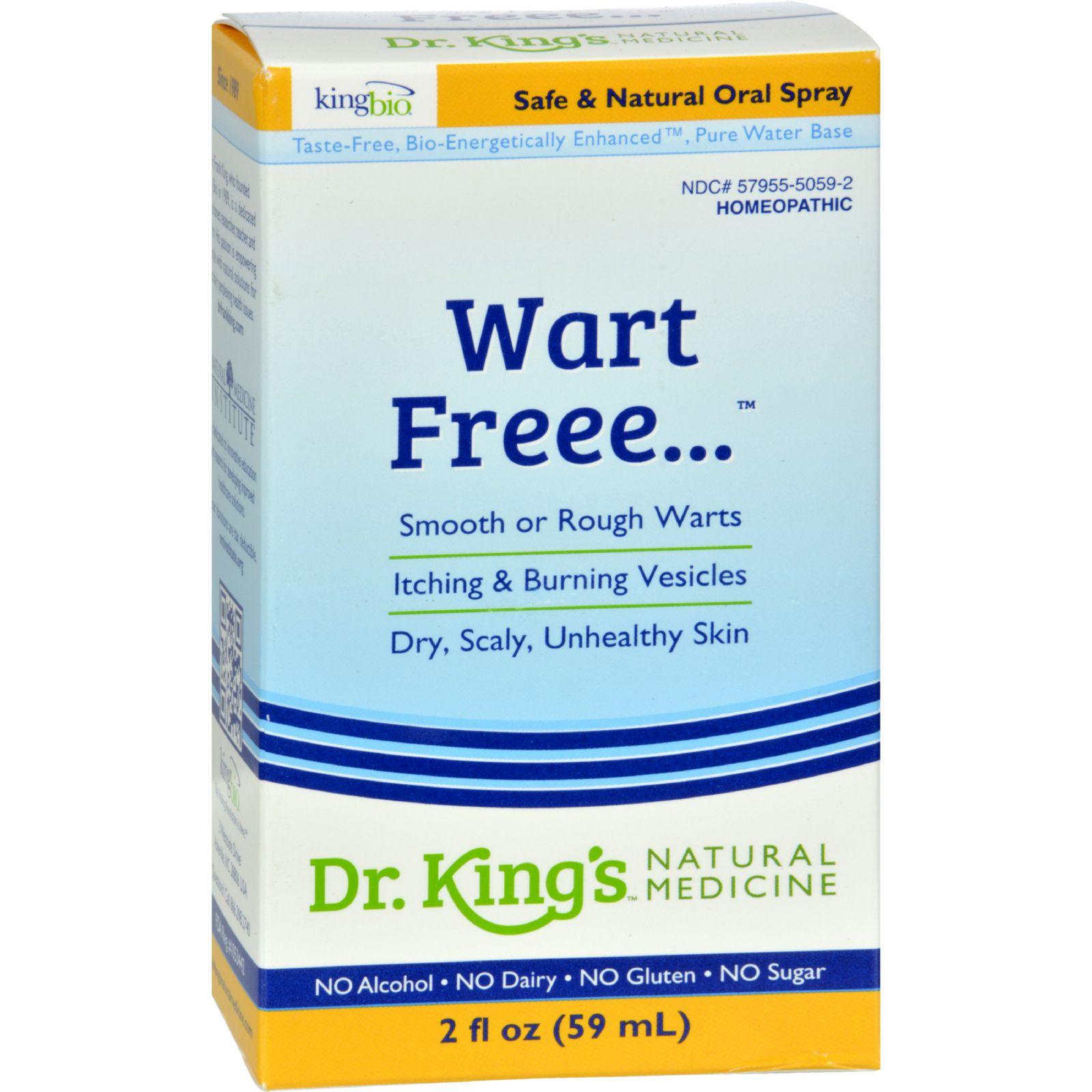 King Bio Homeopathic Wart Free - 2 Fl Oz