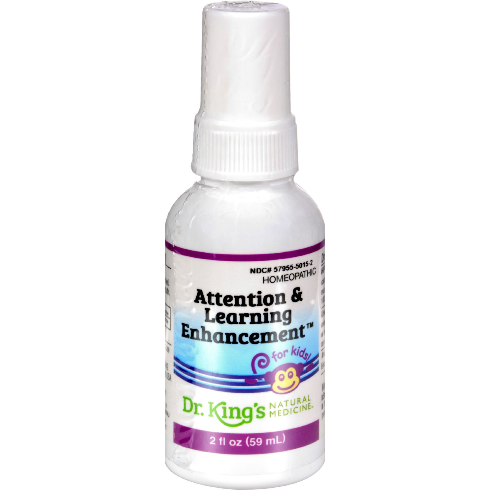 King Bio Homeopathic Attention And Learning Enhancement - 2 Fl Oz
