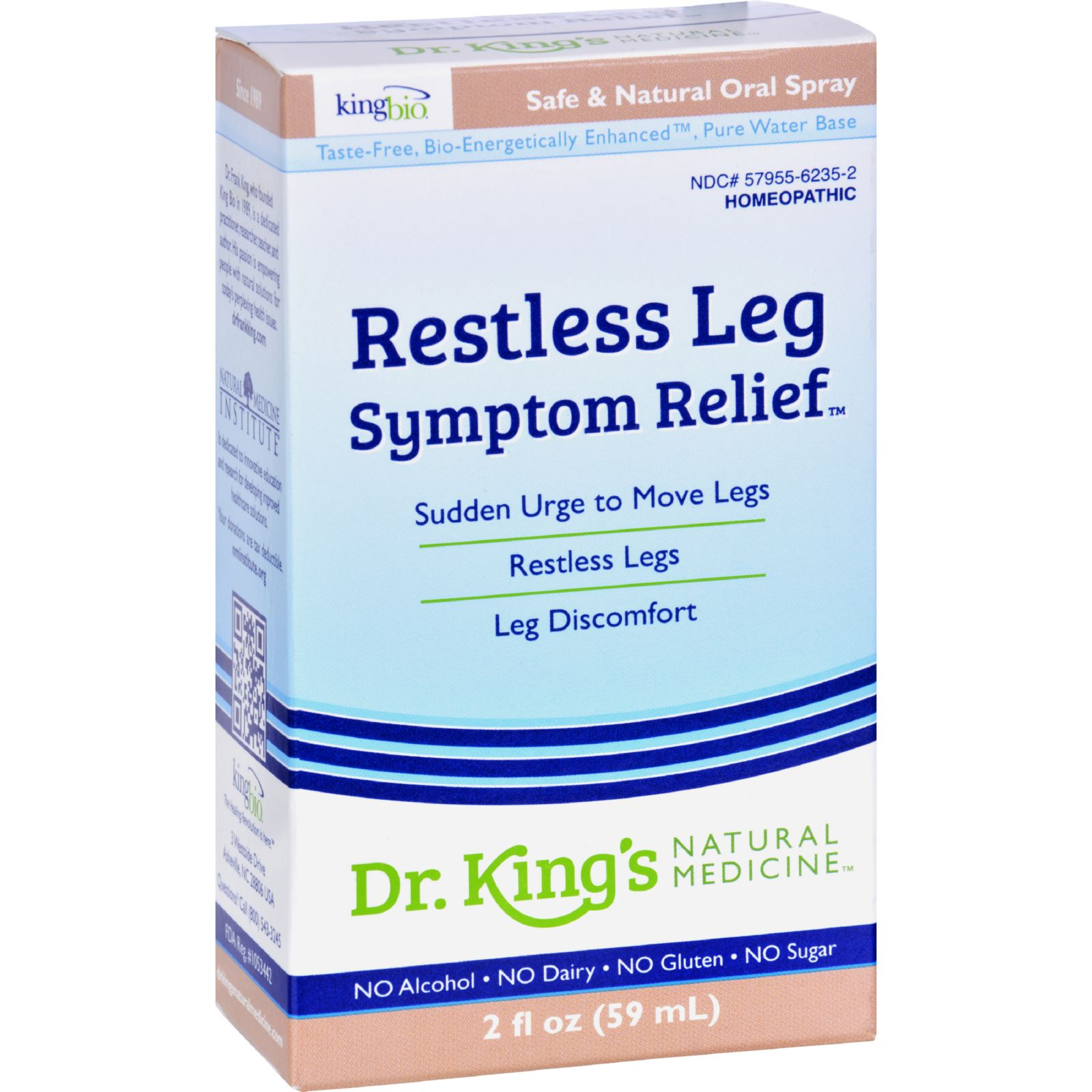 King Bio Homeopathic Restless Leg Syndrome - 2 Fl Oz