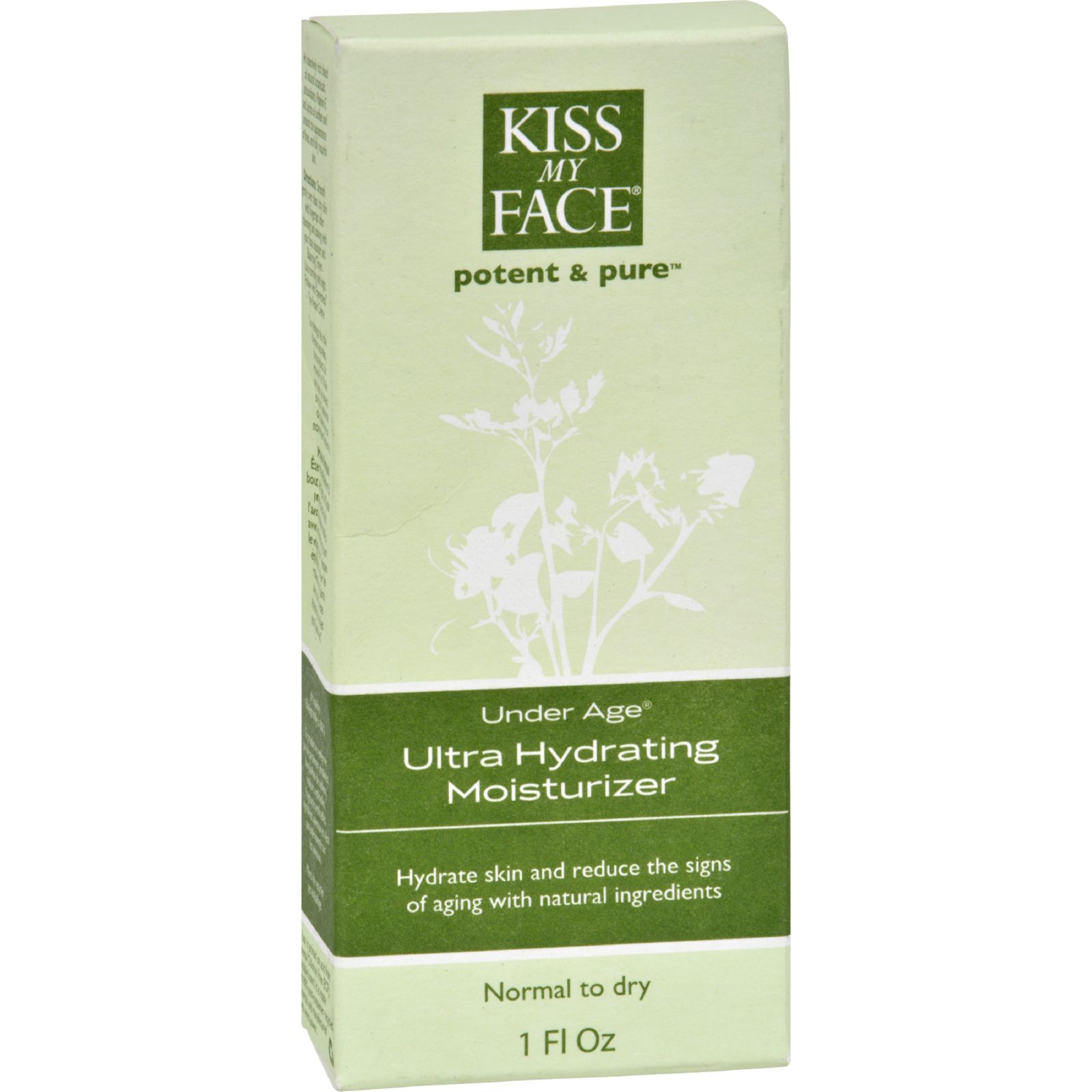 Kiss My Face Ultra Moisturizer Under Age - 1 Fl Oz