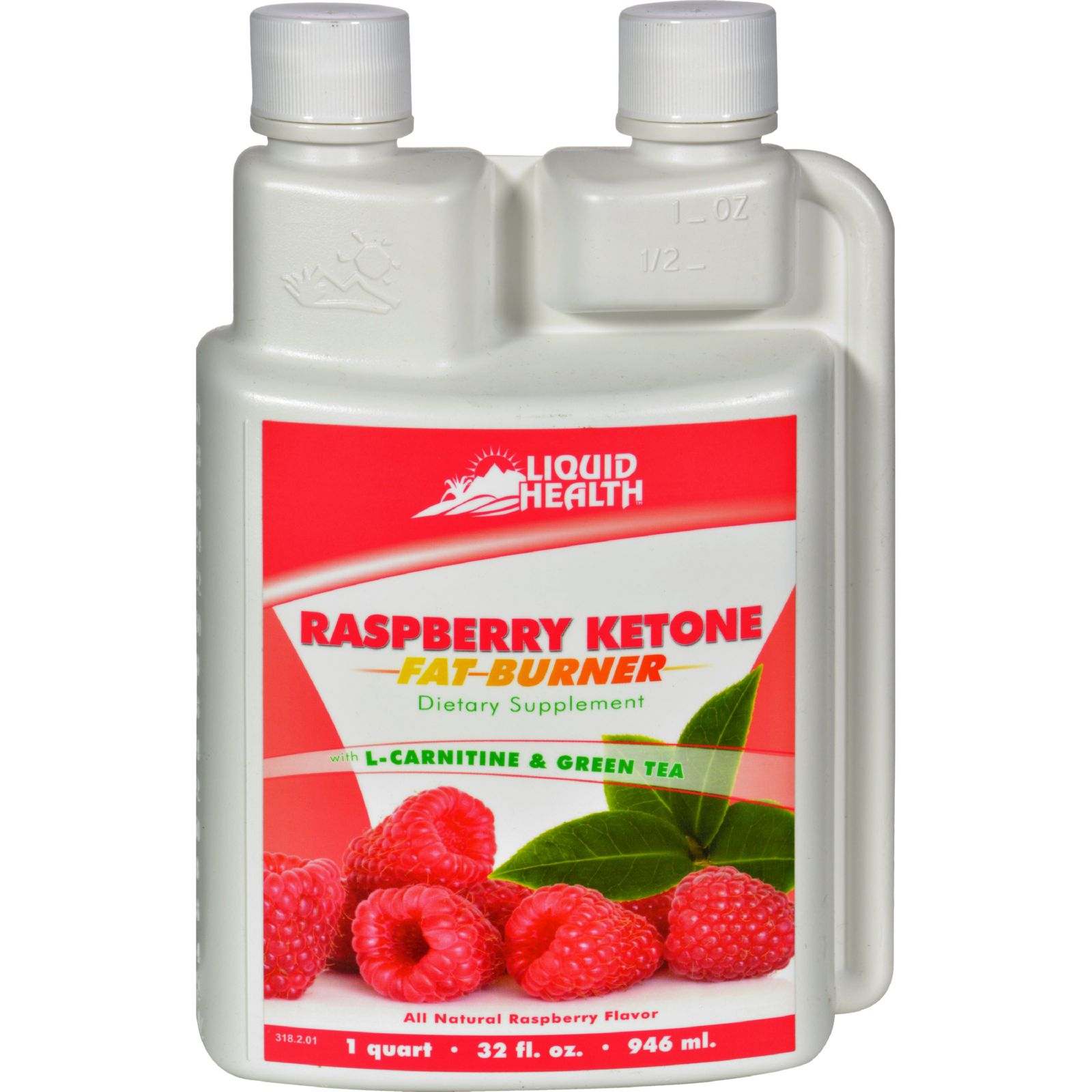 Liquid Health Products Raspberry Ketone Fat Burner Gf - 32 Oz
