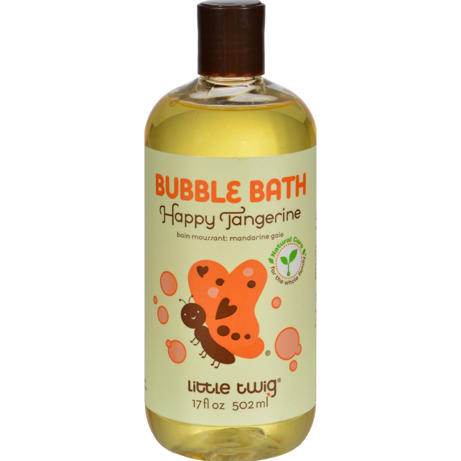 Little Twig Bubble Bath Tangerine - 17 fl oz