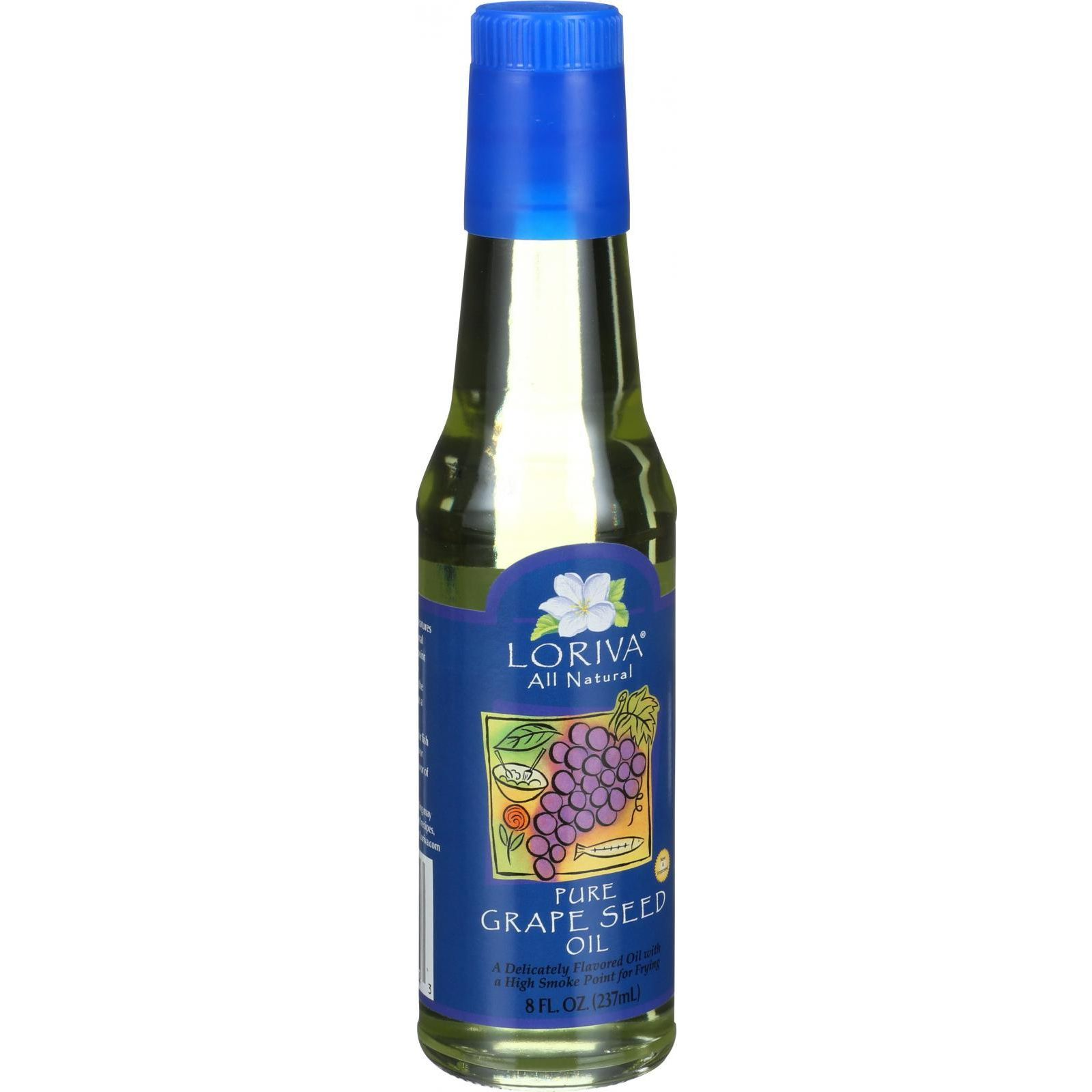 Loriva Grapeseed Oil - Expeller Pressed - Italian - 8 oz
