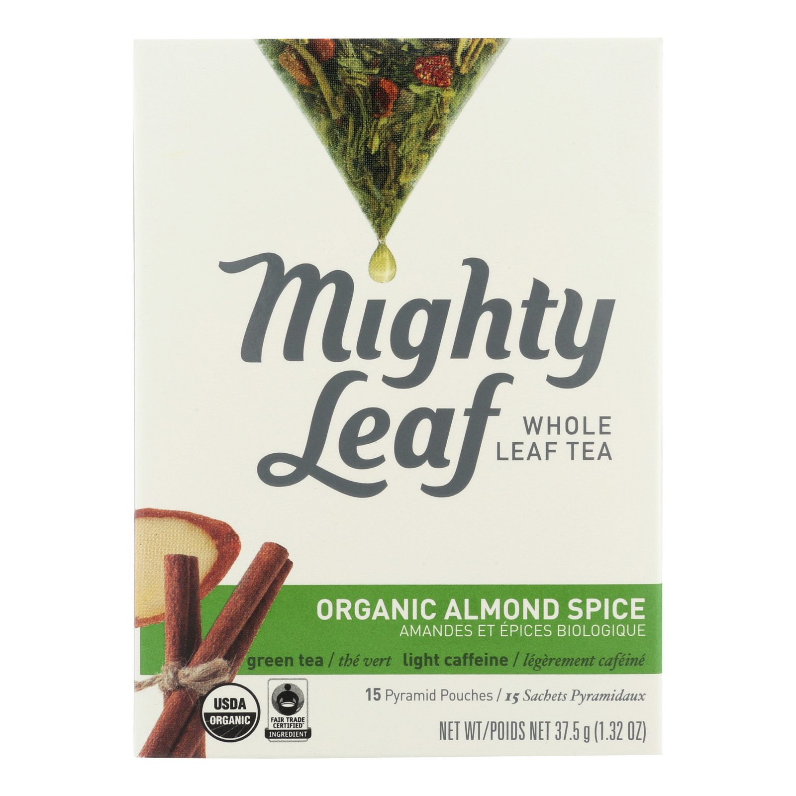 Mighty Leaf Tea Black Tea - Almond Spice - Case Of 6 - 15 Count