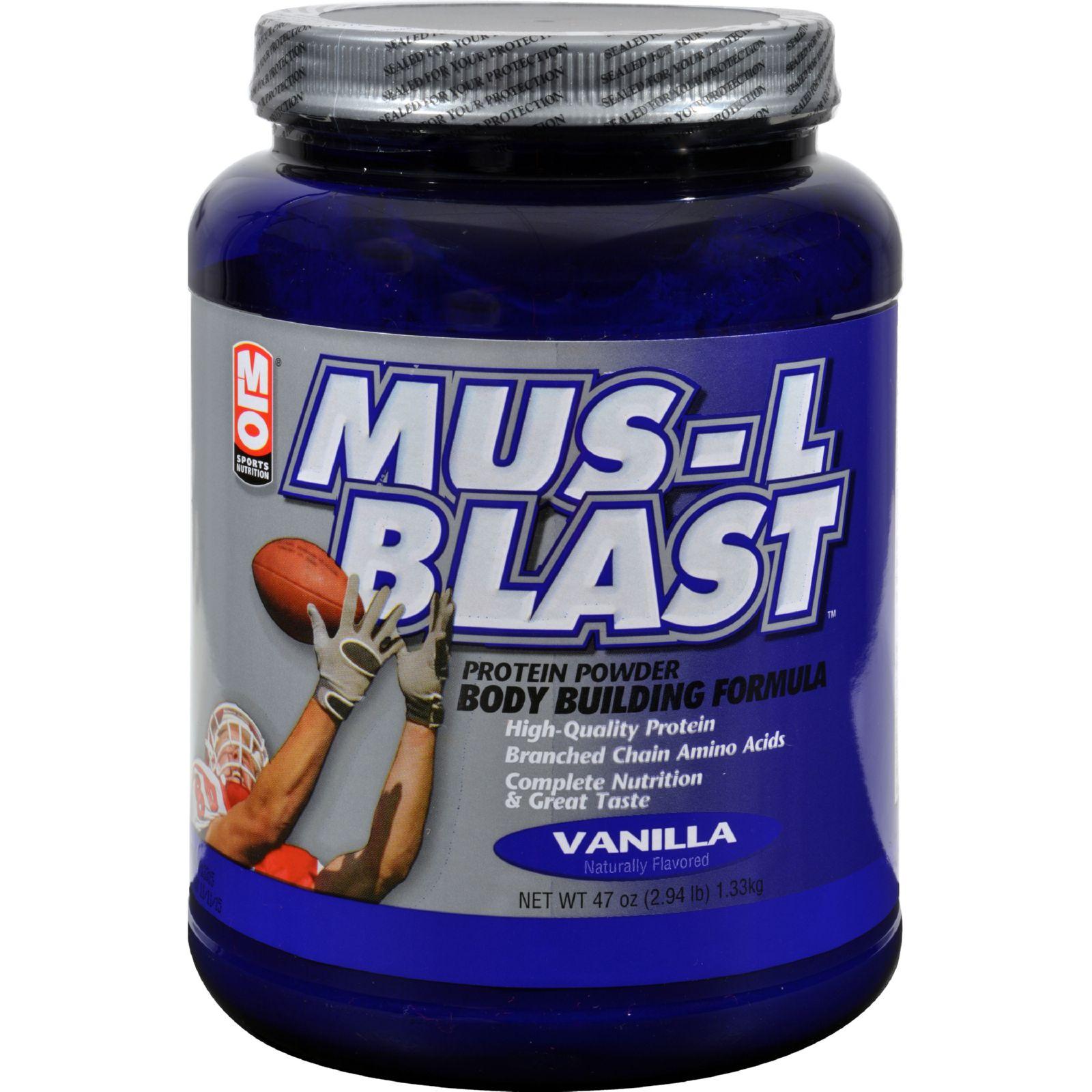 Mlo Mus-l-blast - Vanilla - 47 Oz