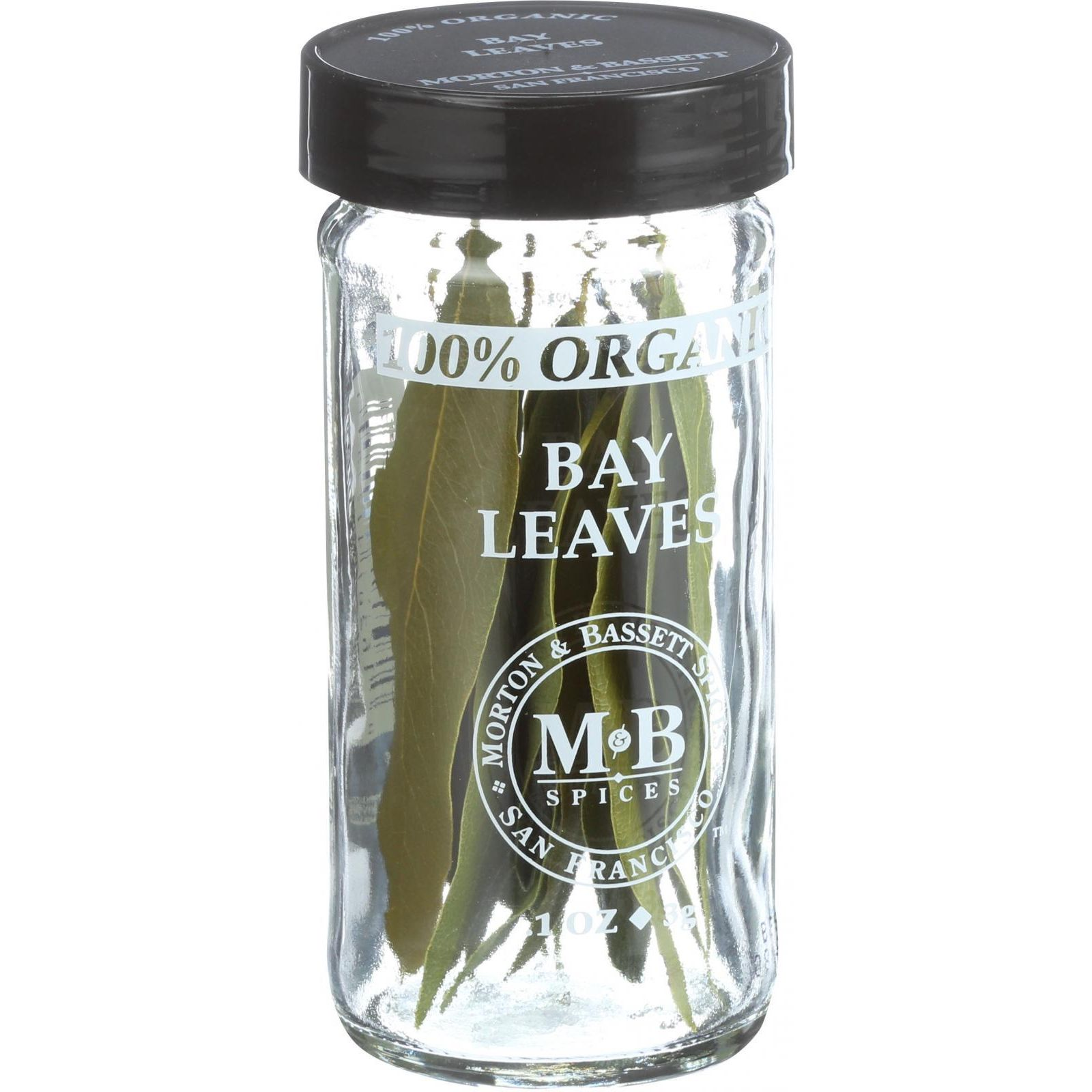 Morton And Bassett 100% Organic Seasoning - Bay Leaves - .1 Oz - Case Of 3