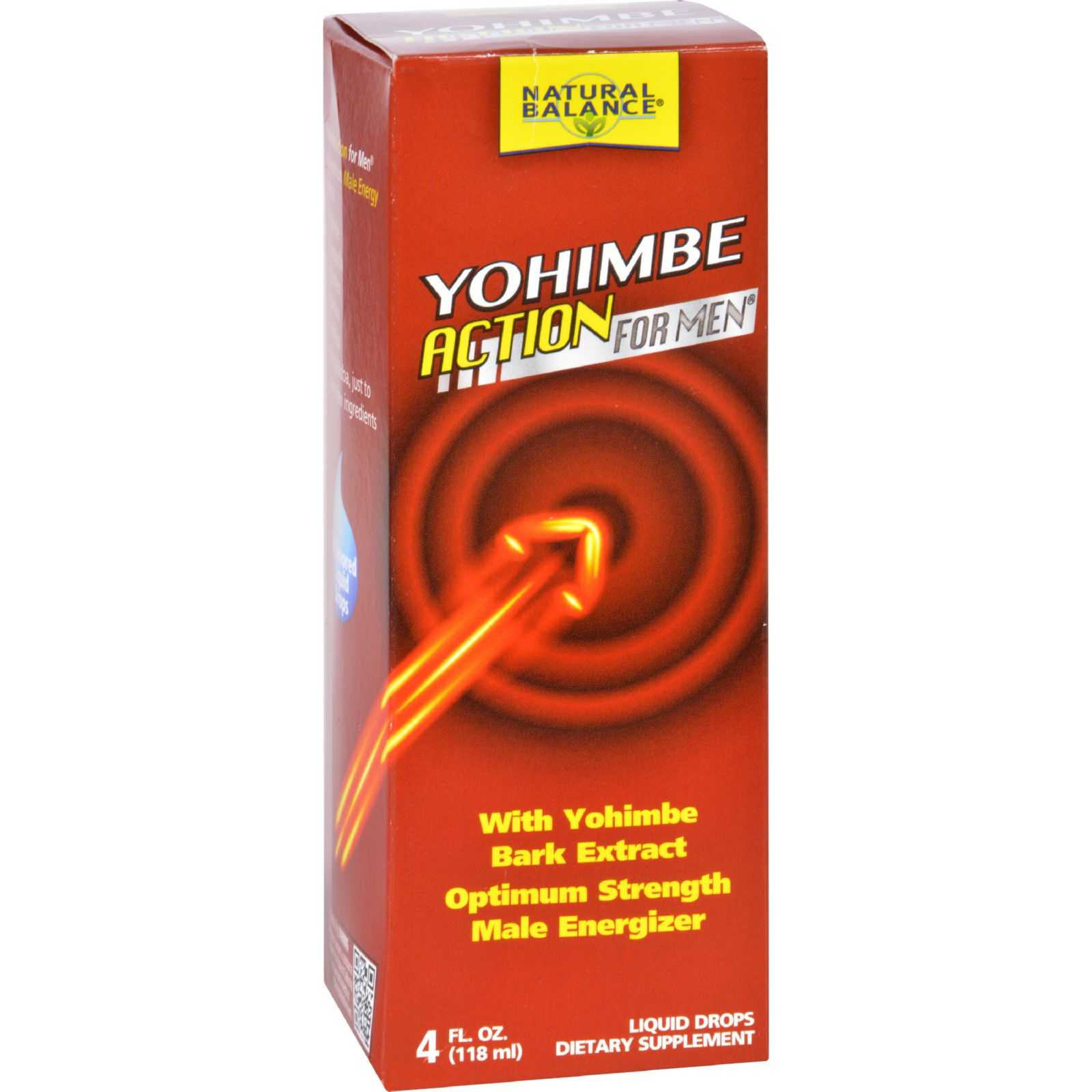 Natural Balance Yohimbe Action For Men - 4 oz