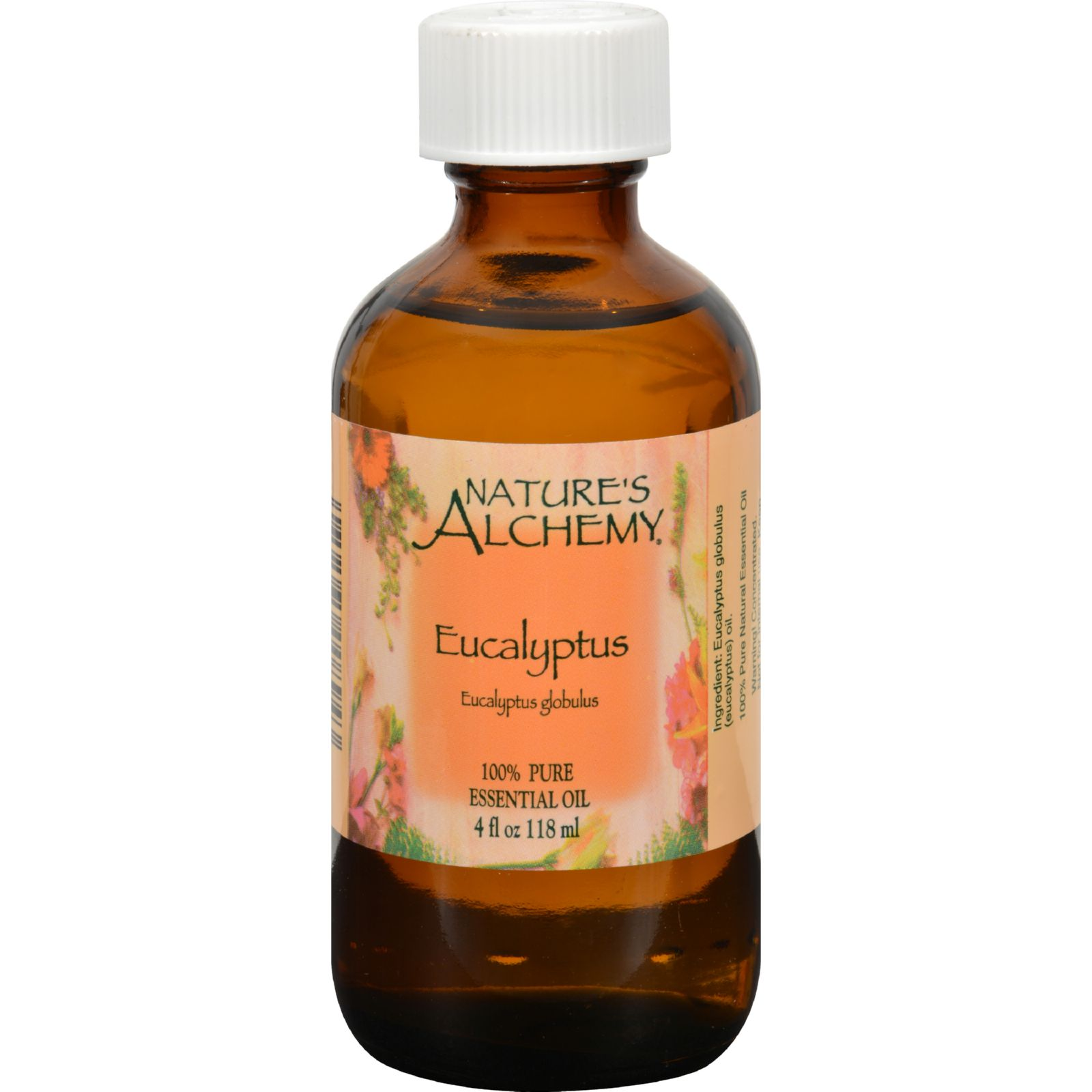 Nature's Alchemy Essential Oil - 100 Percent Pure - Eucalyptus - 4 fl oz