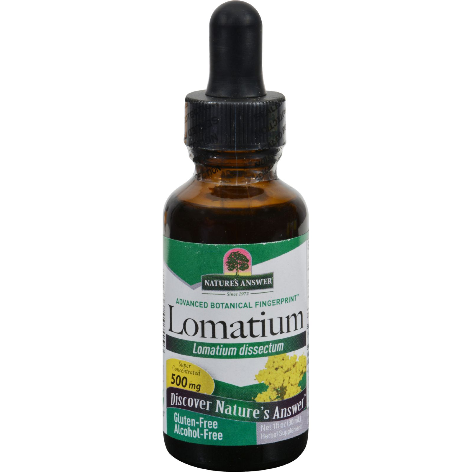 Nature's Answer Lomatium Root Alcohol Free - 1 Fl Oz