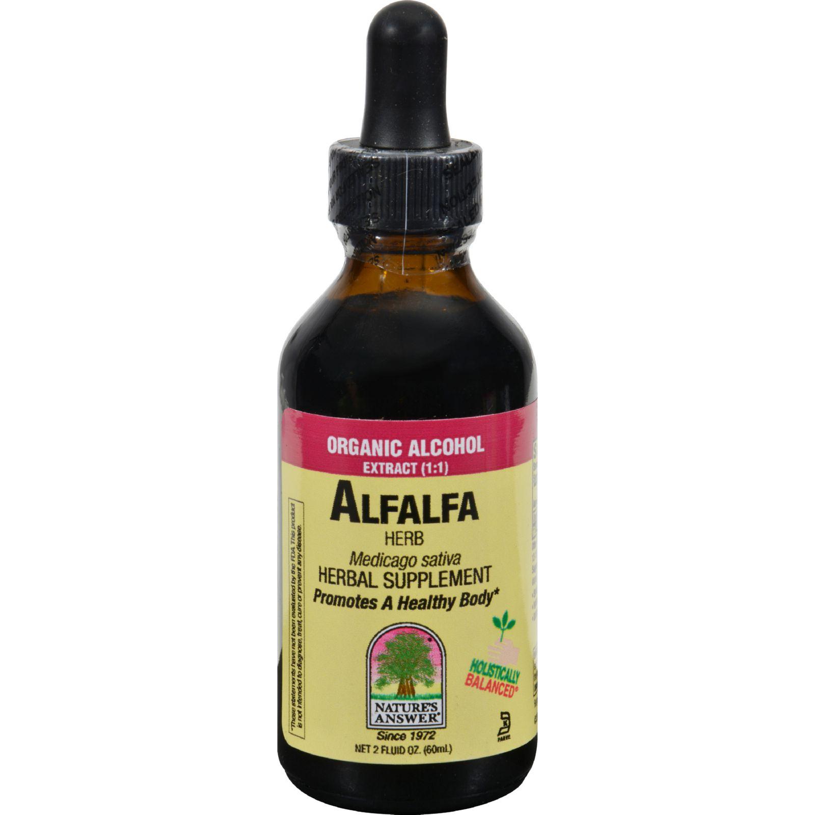Nature's Answer Alfalfa Herb - 2 Fl Oz