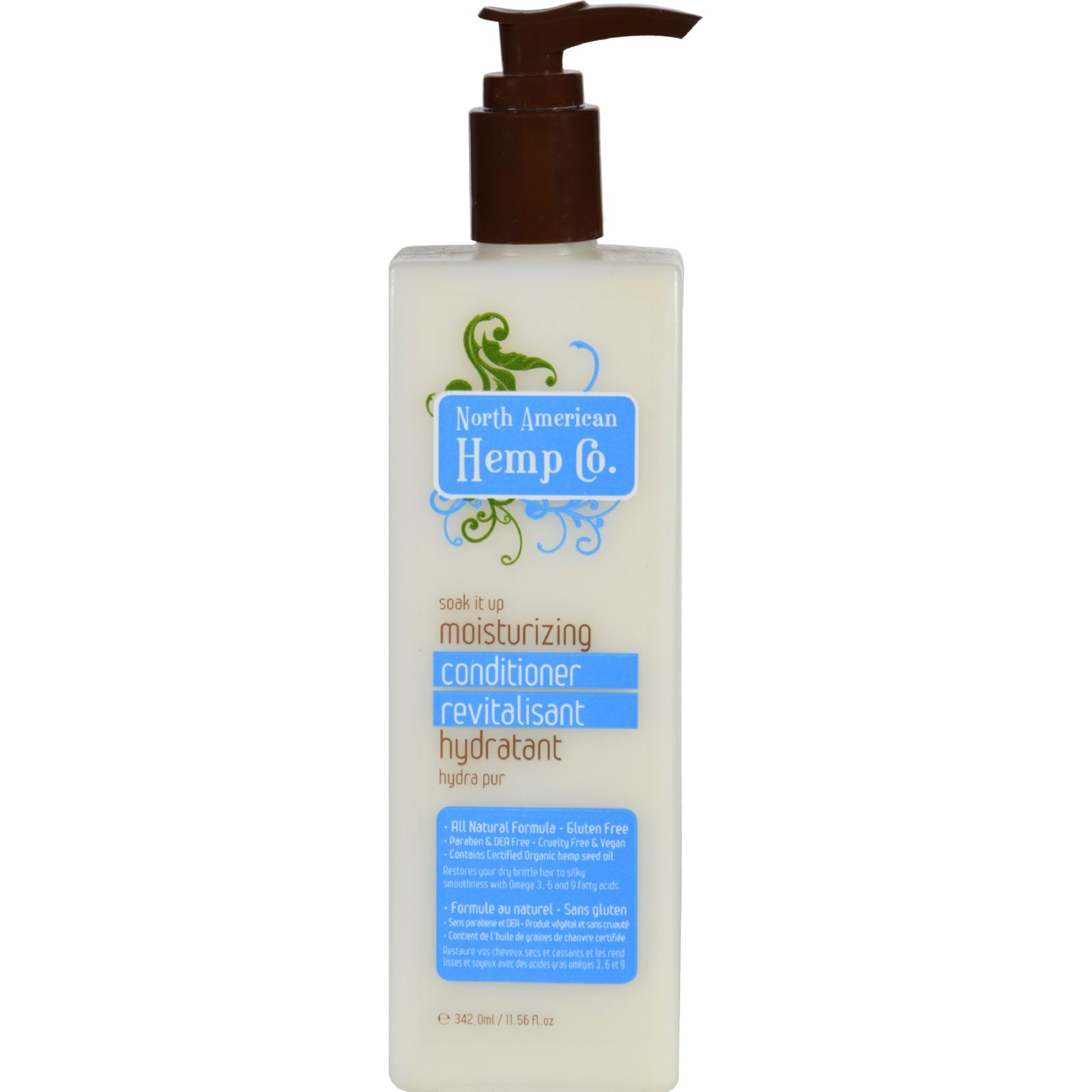 North American Hemp Company Conditioner - Moisturizing - 11.56 Fl Oz