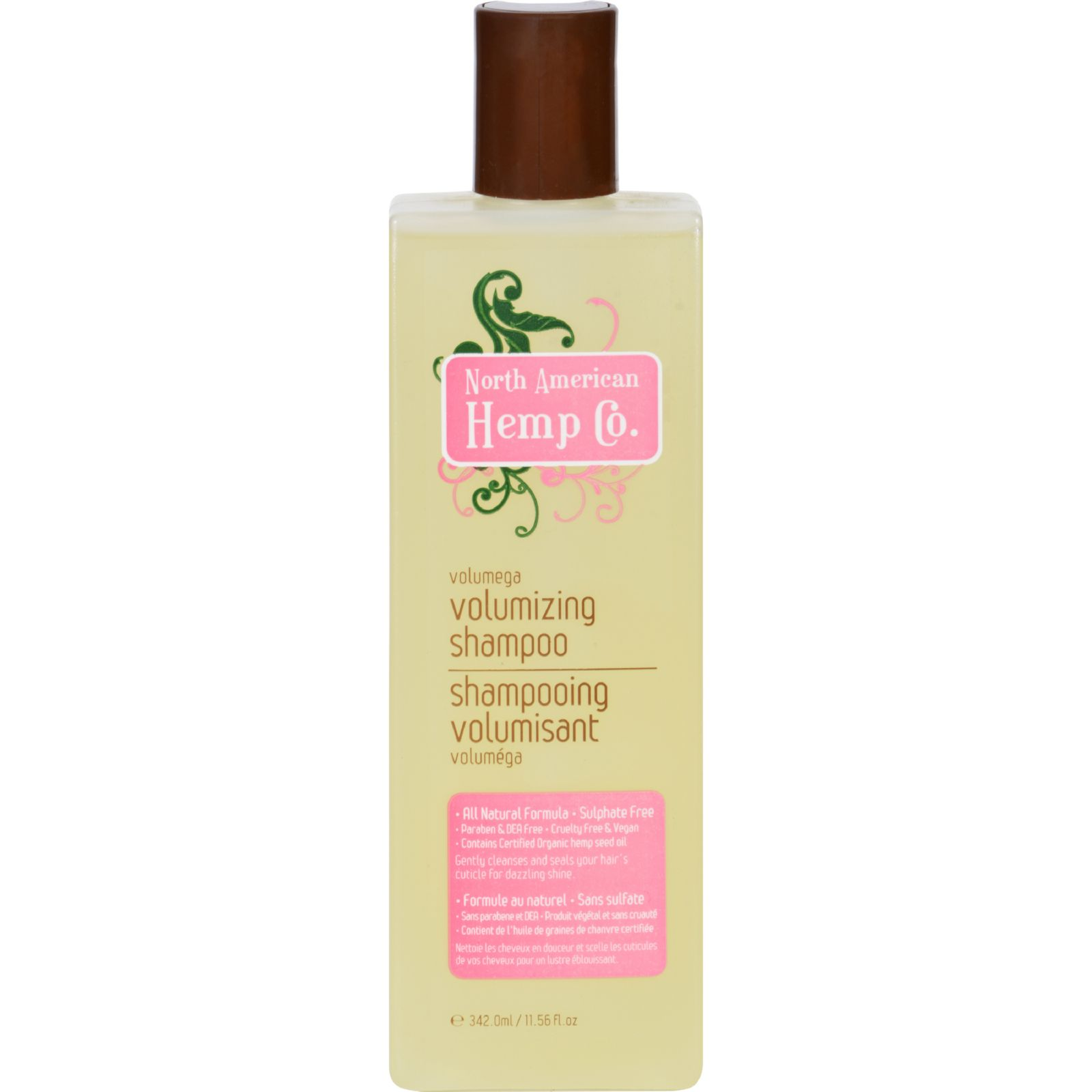 North American Hemp Company Shampoo - Volumizing - 11.56 fl oz