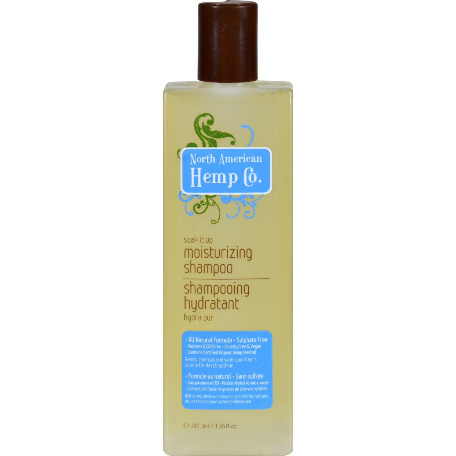 North American Hemp Company Shampoo - Moisturizing - 11.56 fl oz