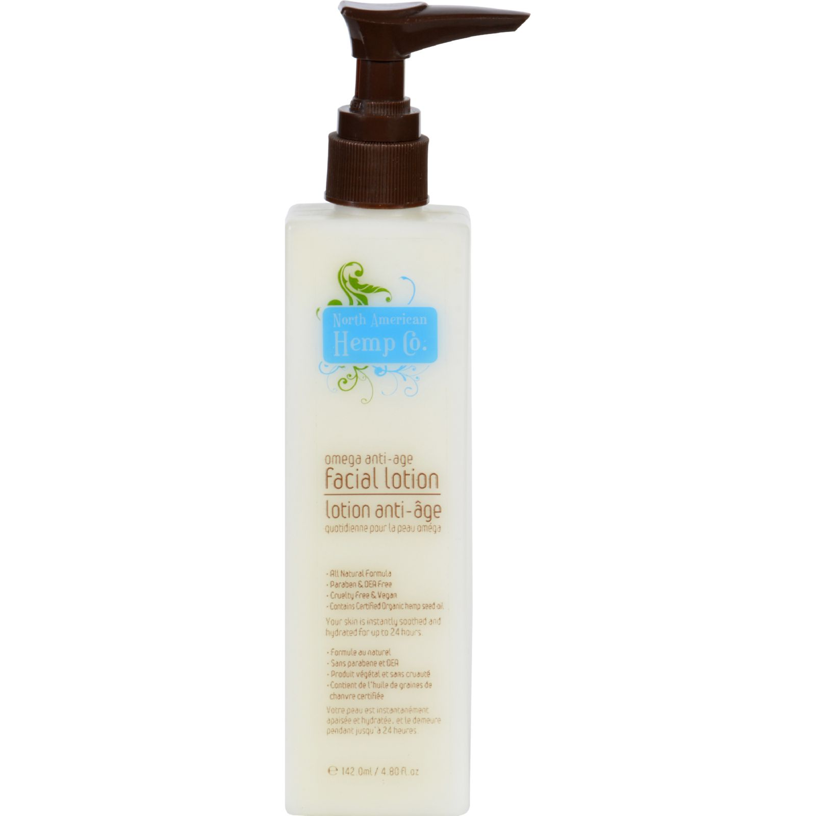 North American Hemp Company Facial Lotion - 4.8 Fl Oz